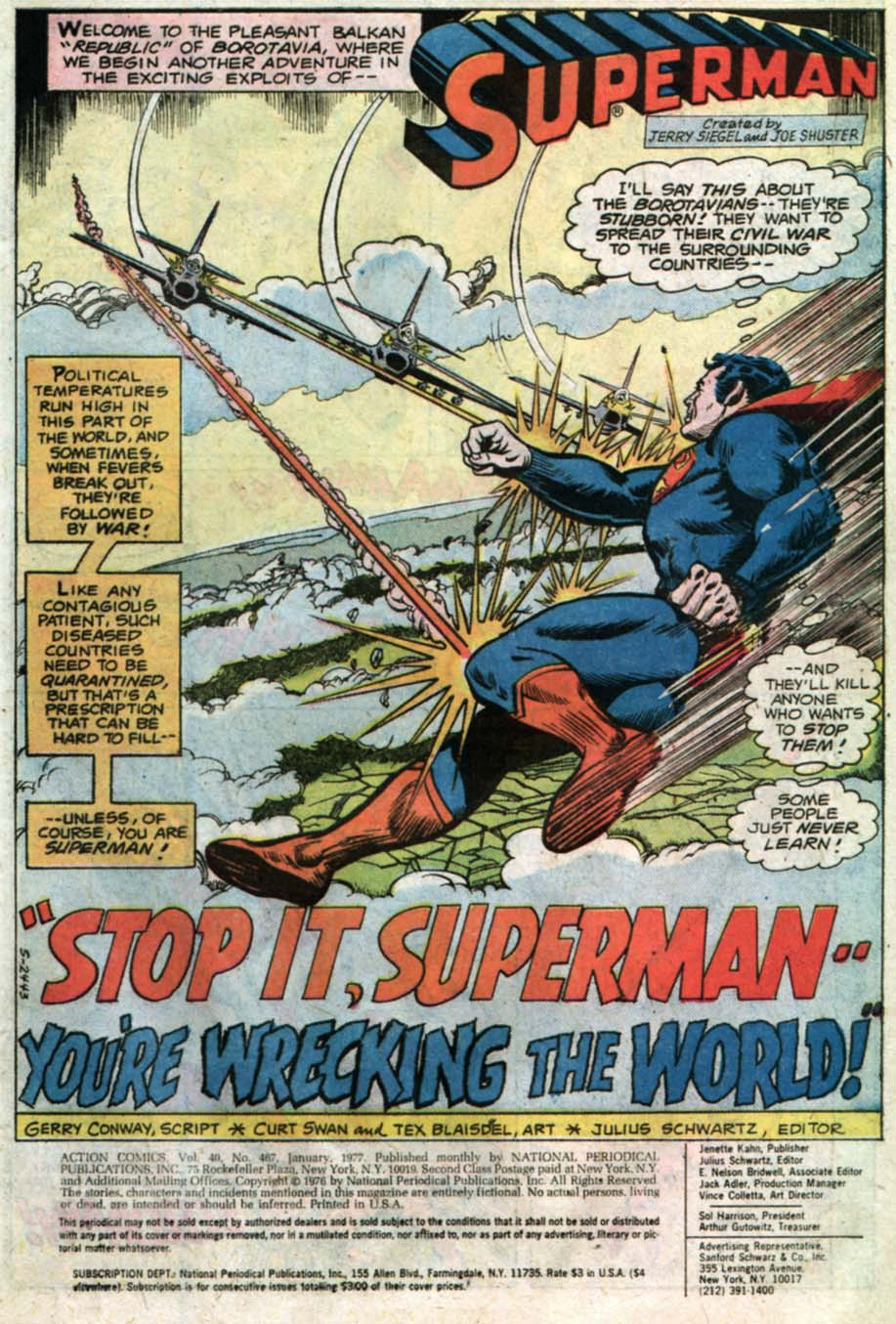 Read online Action Comics (1938) comic -  Issue #467 - 9