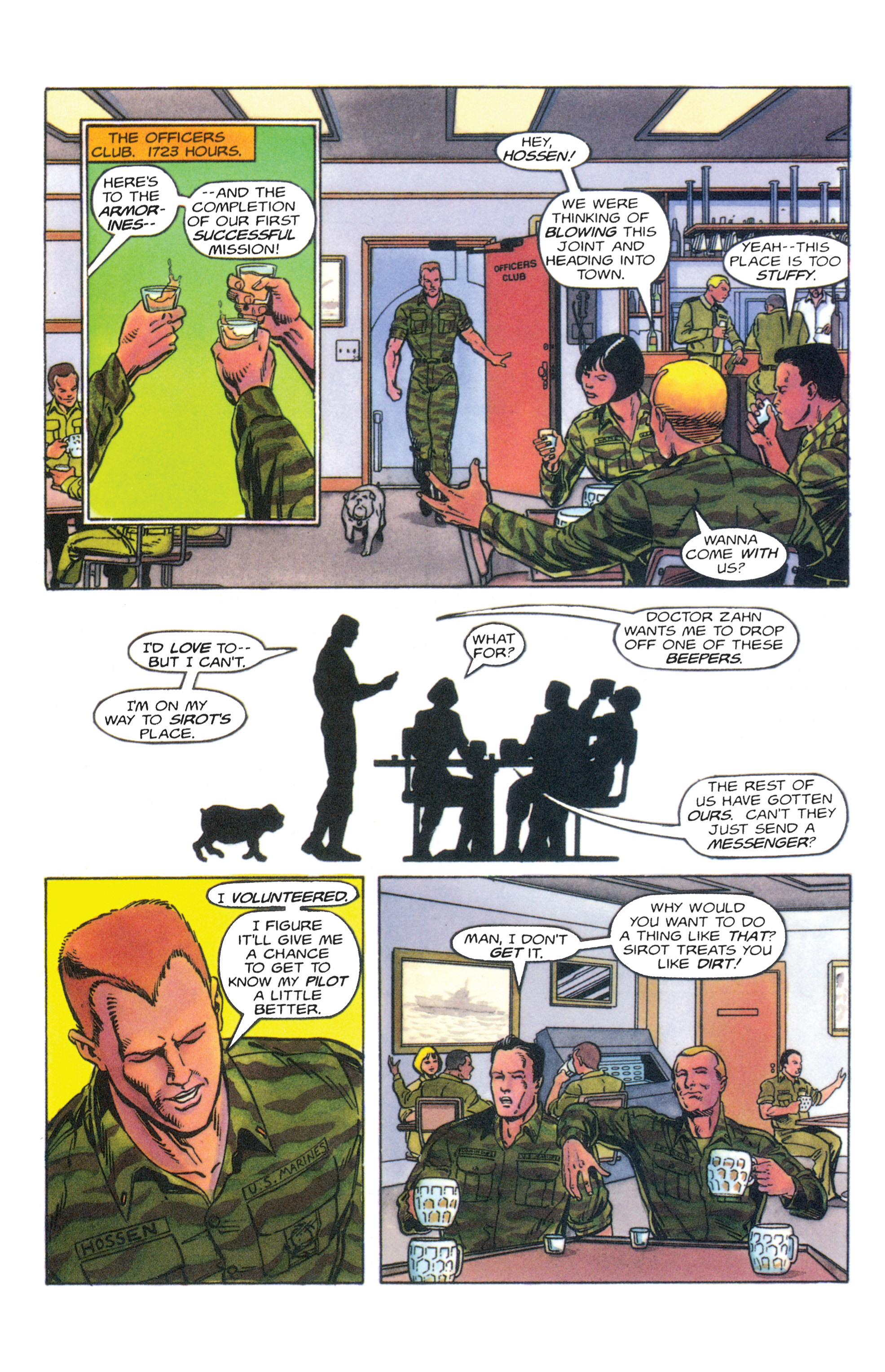 Read online Armorines comic -  Issue #4 - 10