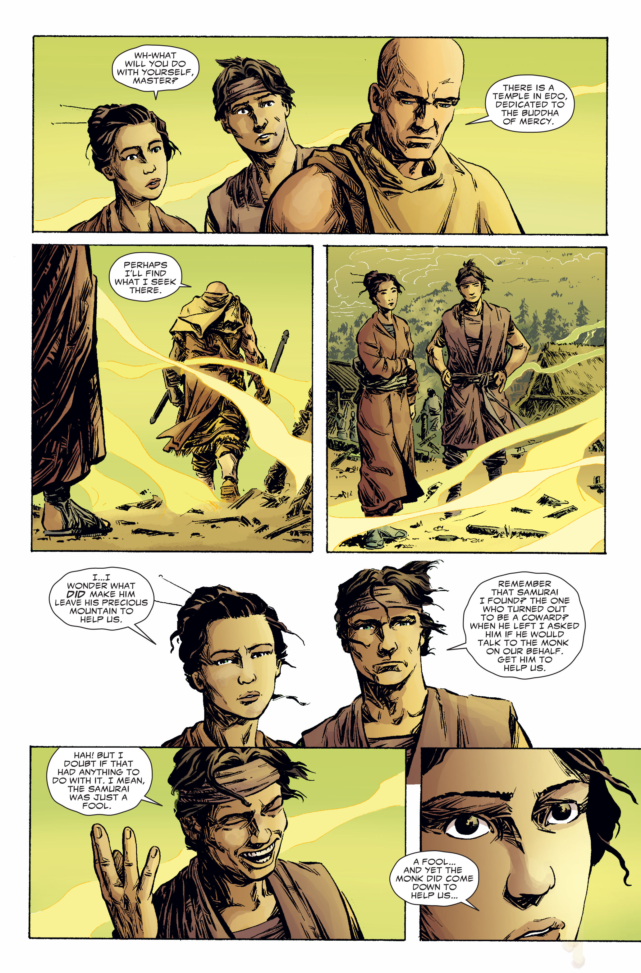 Read online 5 Ronin (2011) comic -  Issue #2 - 22