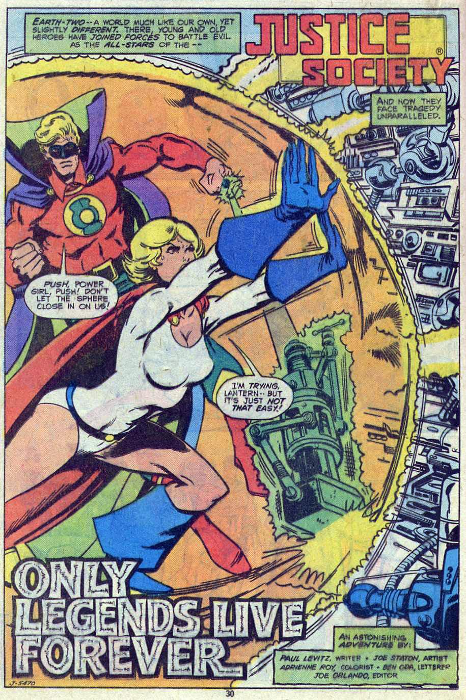 Read online Adventure Comics (1938) comic -  Issue #461 - 30