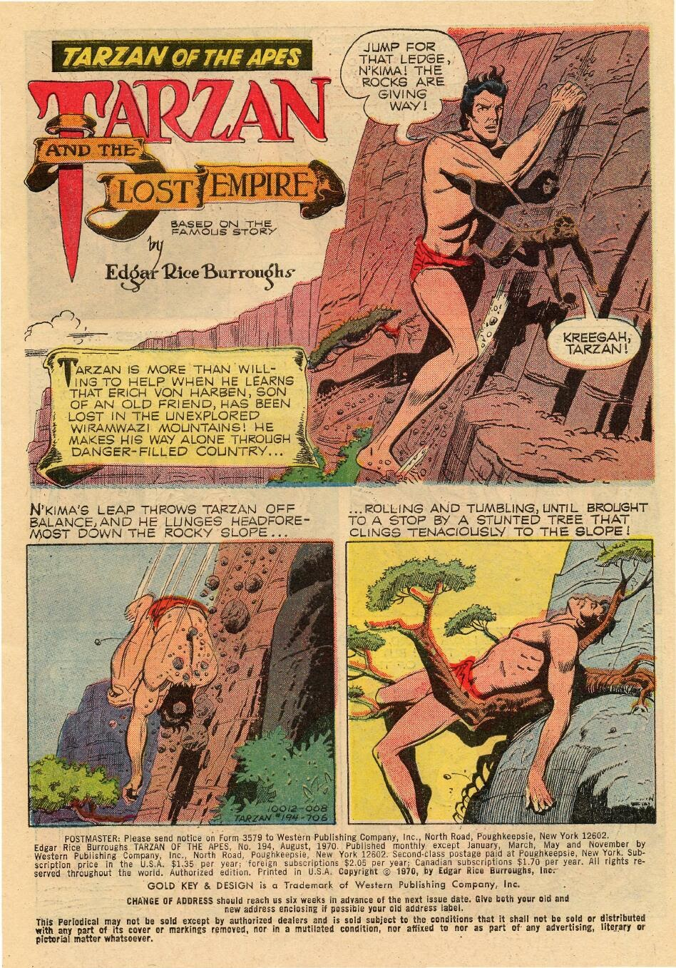 Tarzan (1962) issue 194 - Page 3