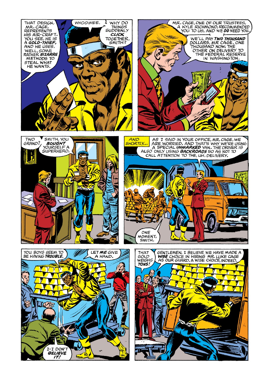 Read online Marvel Masterworks: Luke Cage, Power Man comic -  Issue # TPB 3 (Part 2) - 98