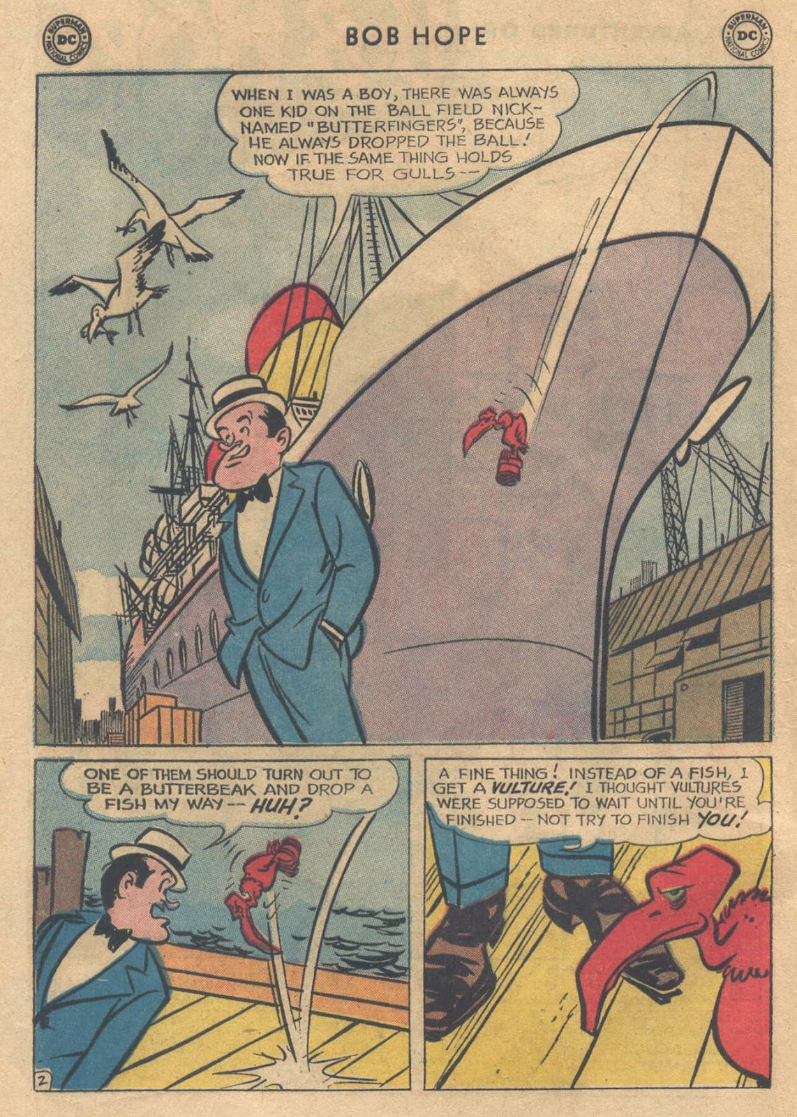 The Adventures of Bob Hope issue 76 - Page 4