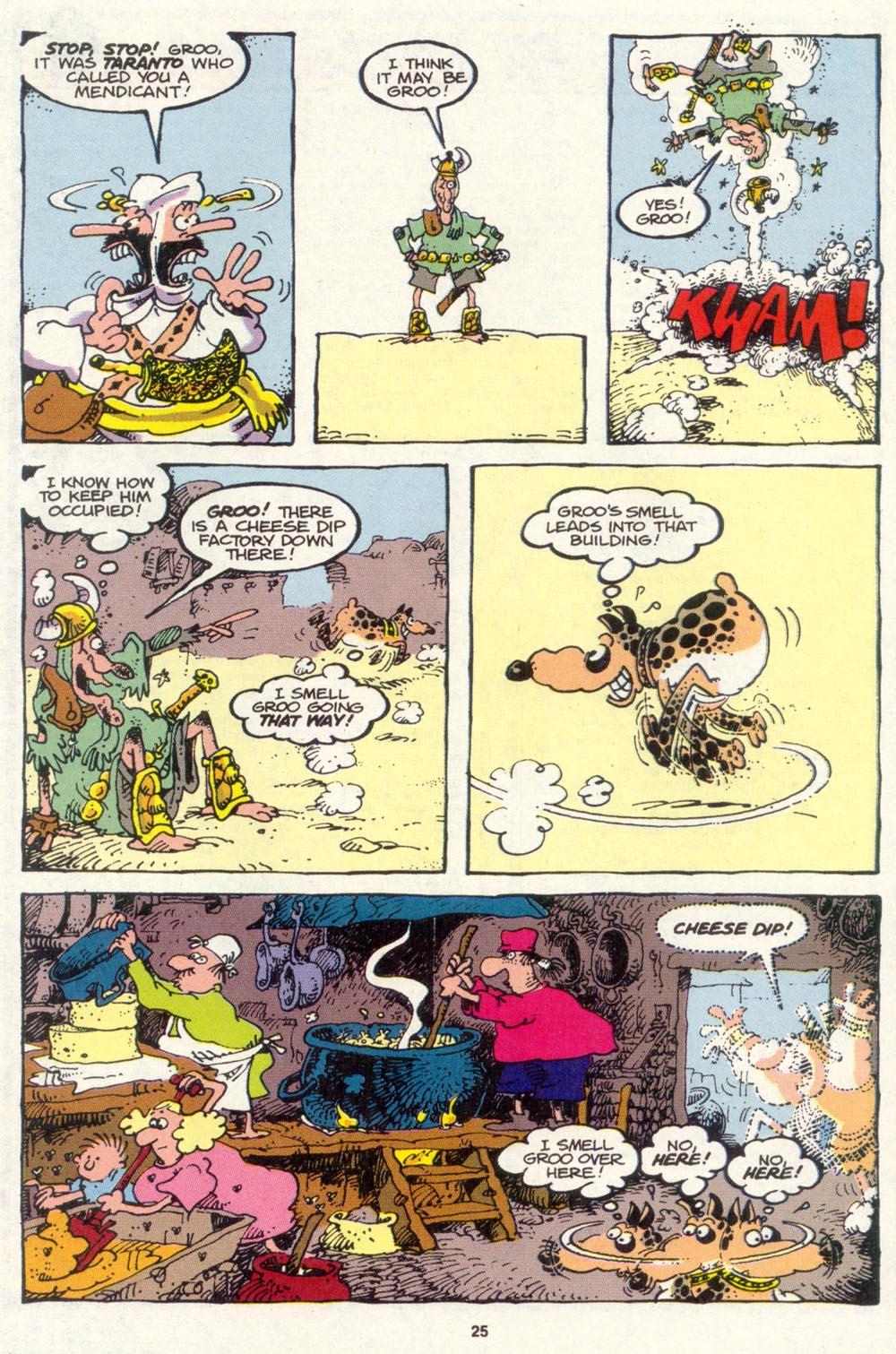 Read online Sergio Aragonés Groo the Wanderer comic -  Issue #85 - 19