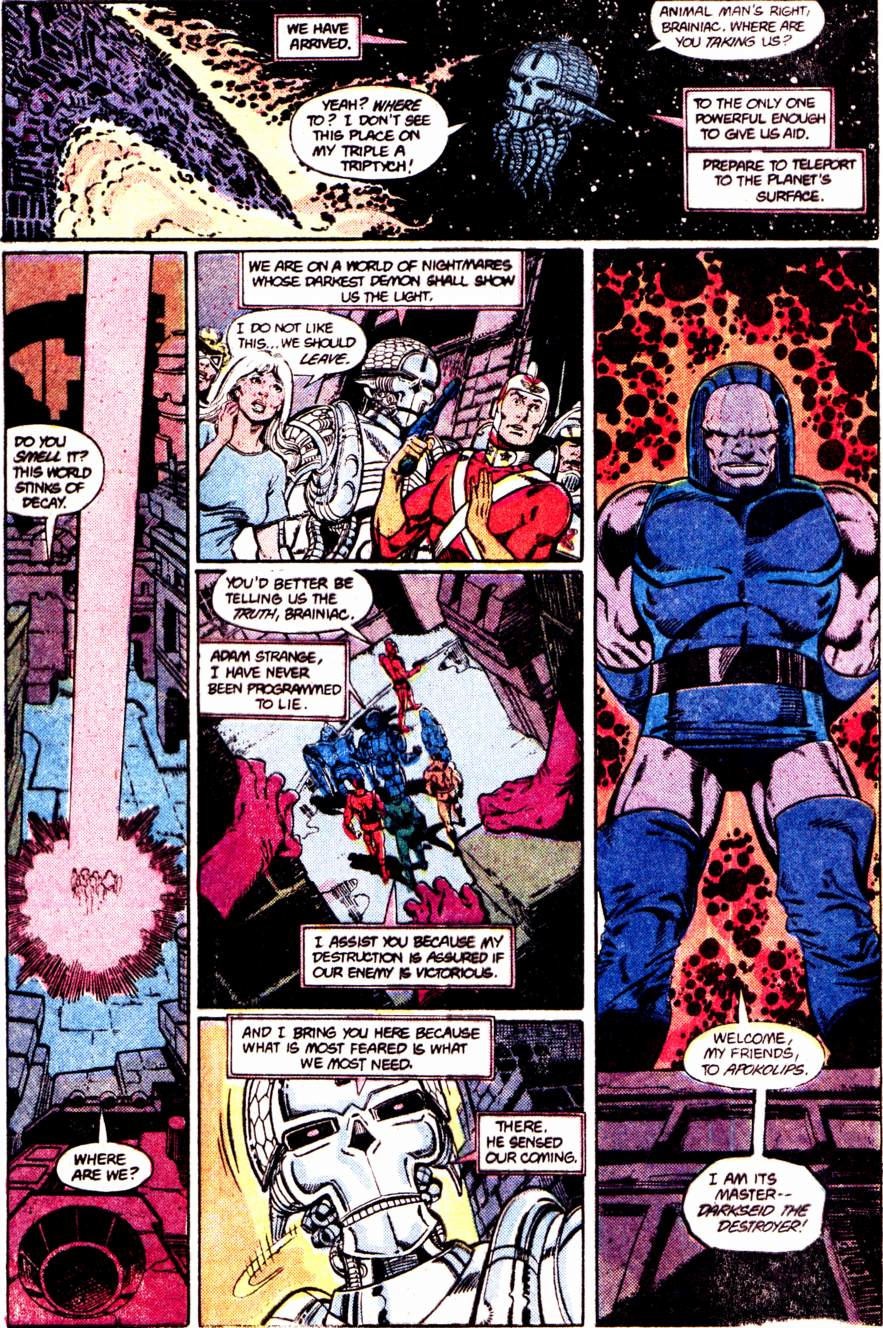 Crisis on Infinite Earths (1985) 12 Page 14