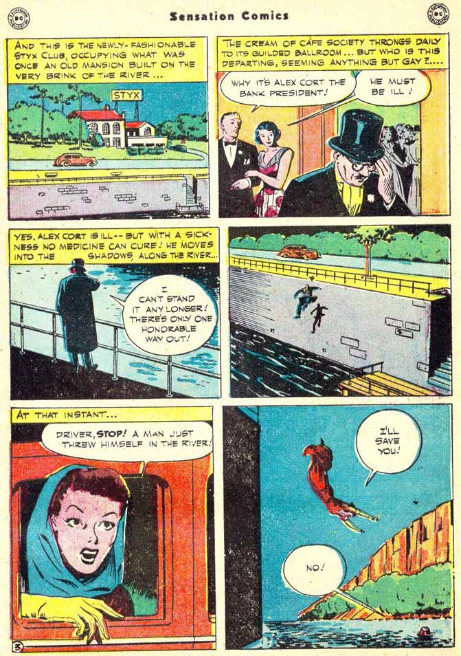 Read online Sensation (Mystery) Comics comic -  Issue #90 - 41