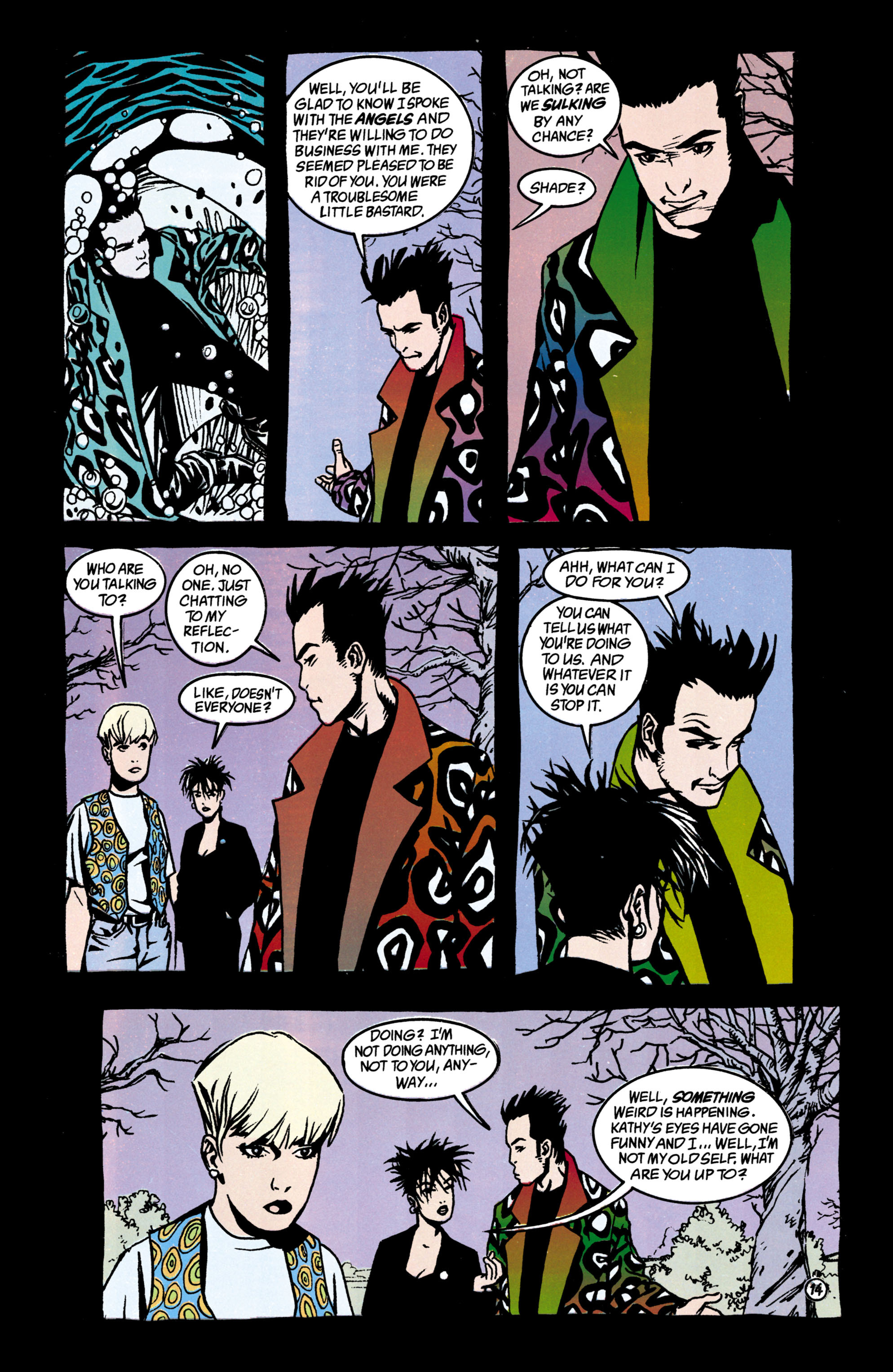 Read online Shade, the Changing Man comic -  Issue #38 - 15