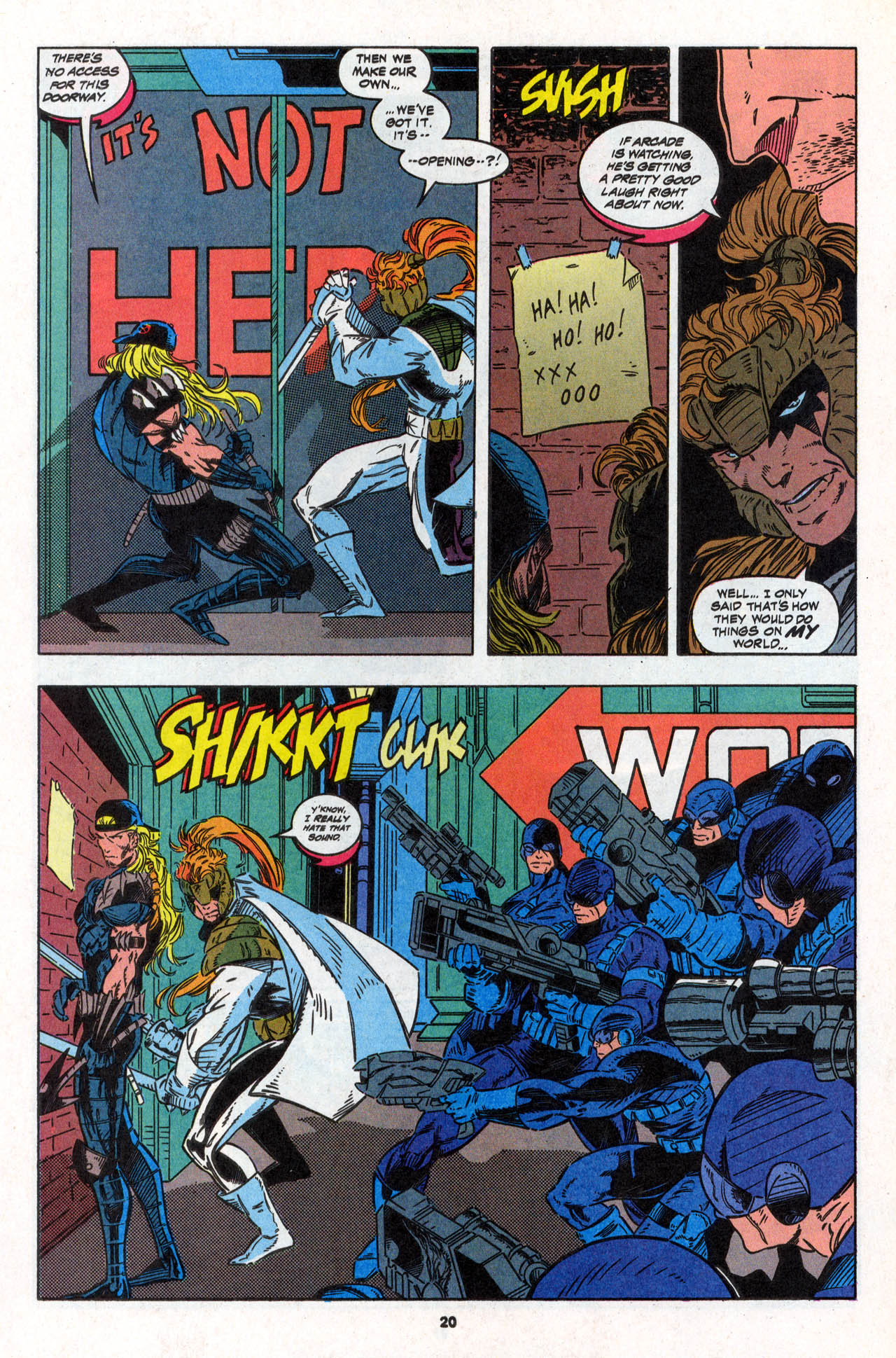 Read online X-Force (1991) comic -  Issue #30 - 21