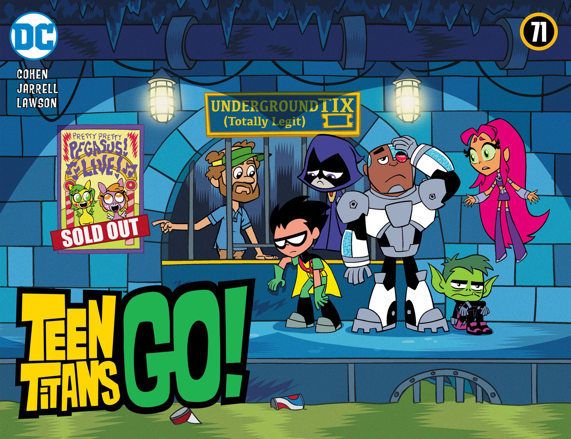 Teen Titans Go! (2013) 71 Page 1
