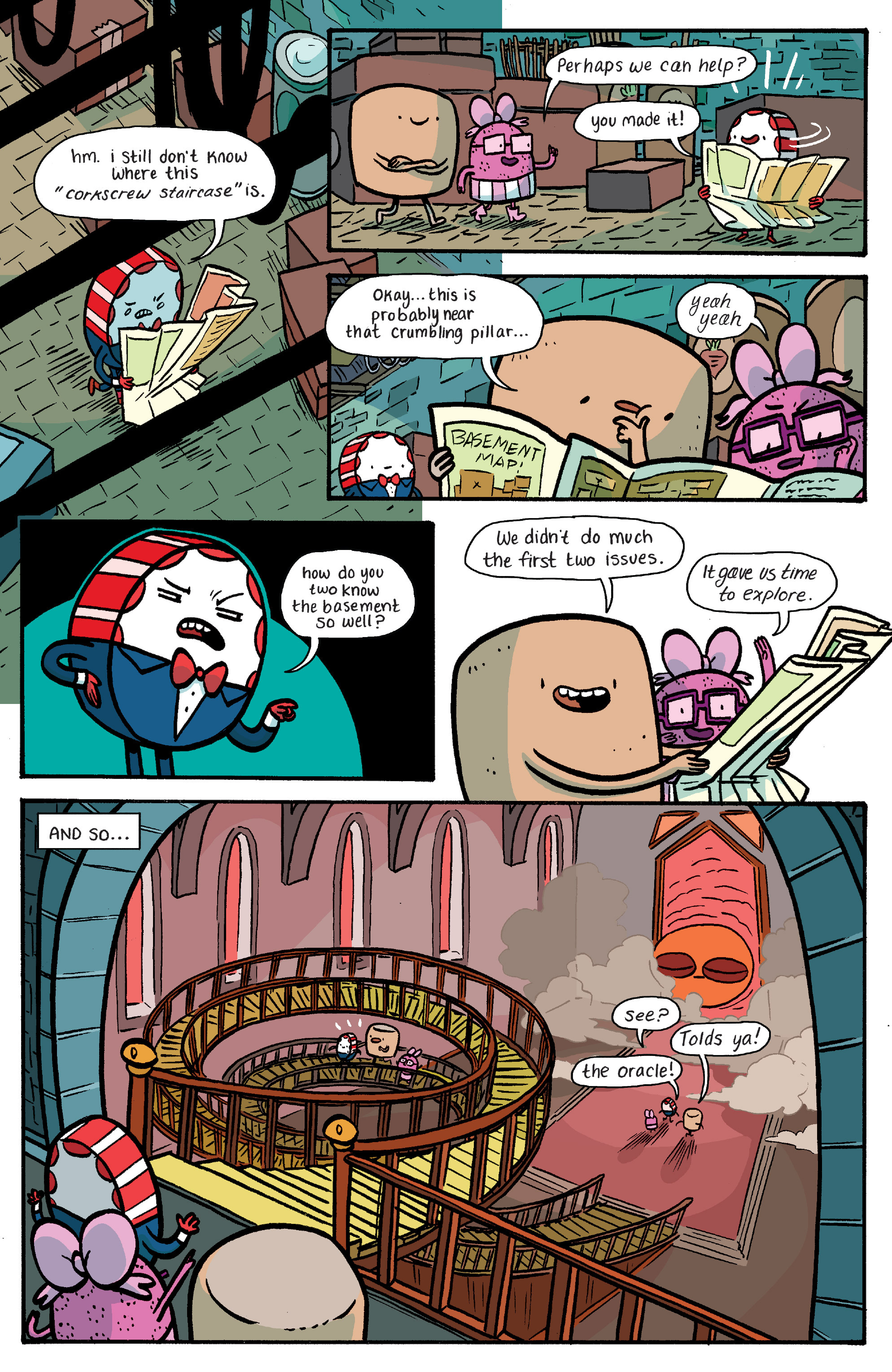 Read online Adventure Time: Banana Guard Academ comic -  Issue #4 - 21