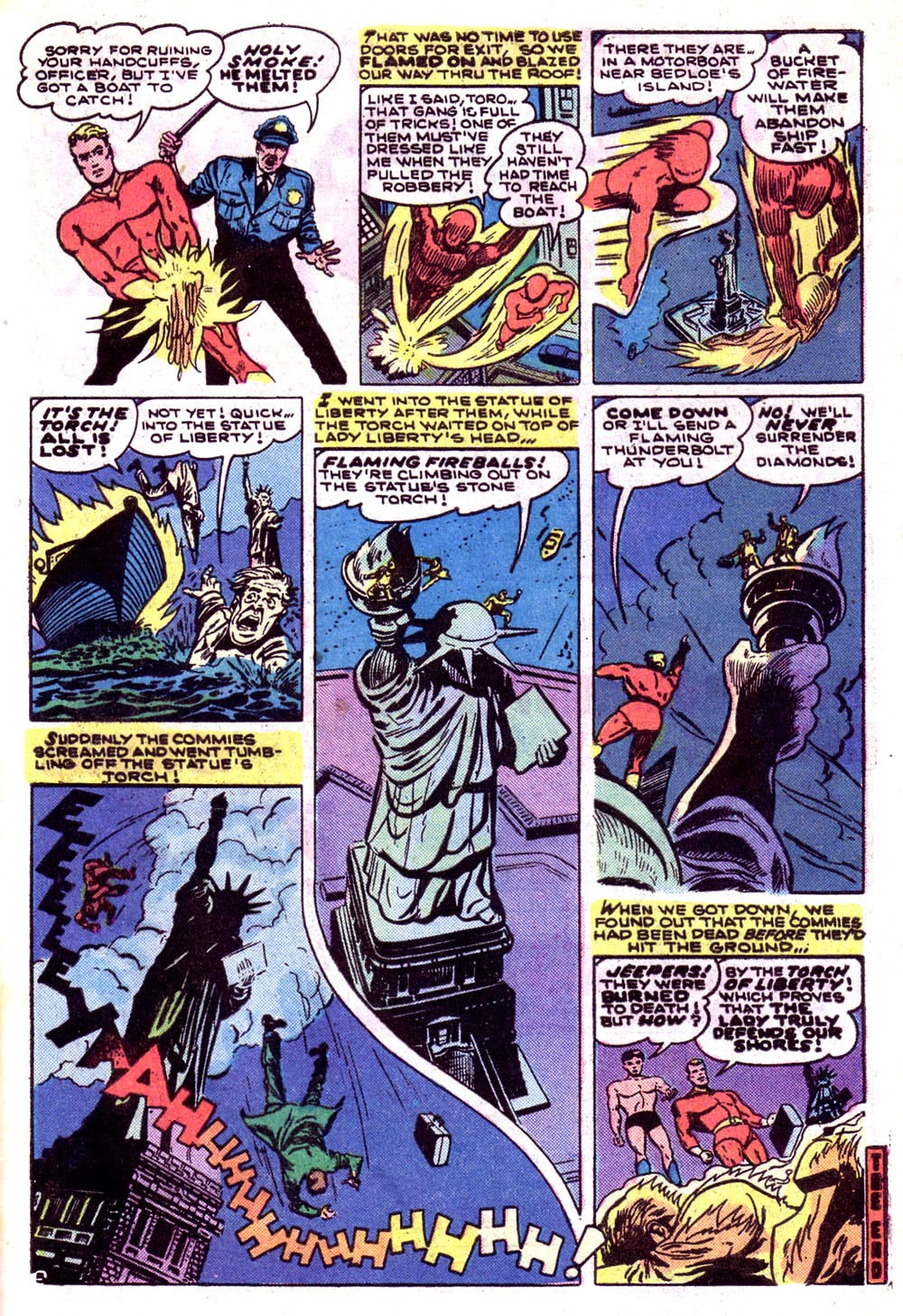 The Human Torch (1974) 7 Page 19