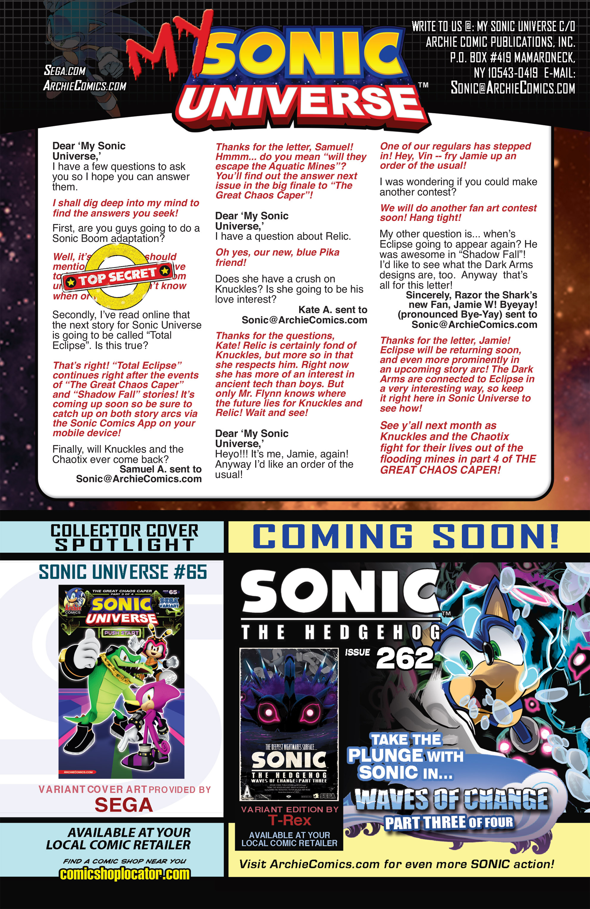 Read online Sonic Universe comic -  Issue #65 - 23