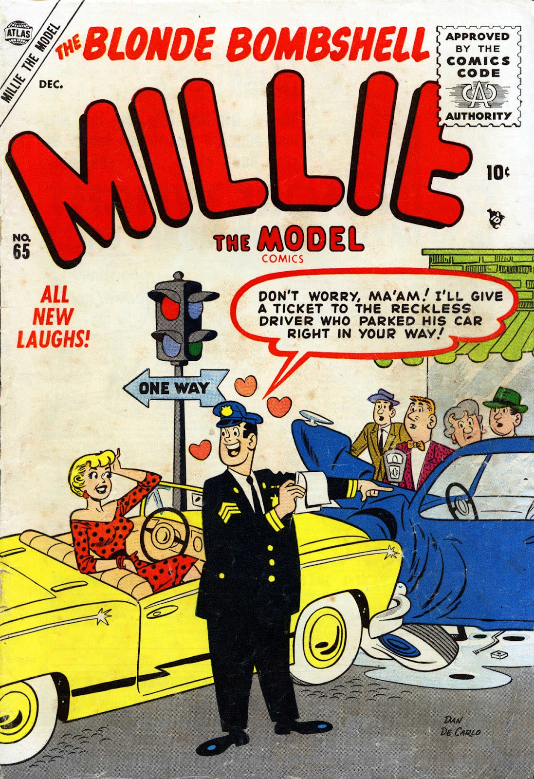 Millie the Model issue 65 - Page 1