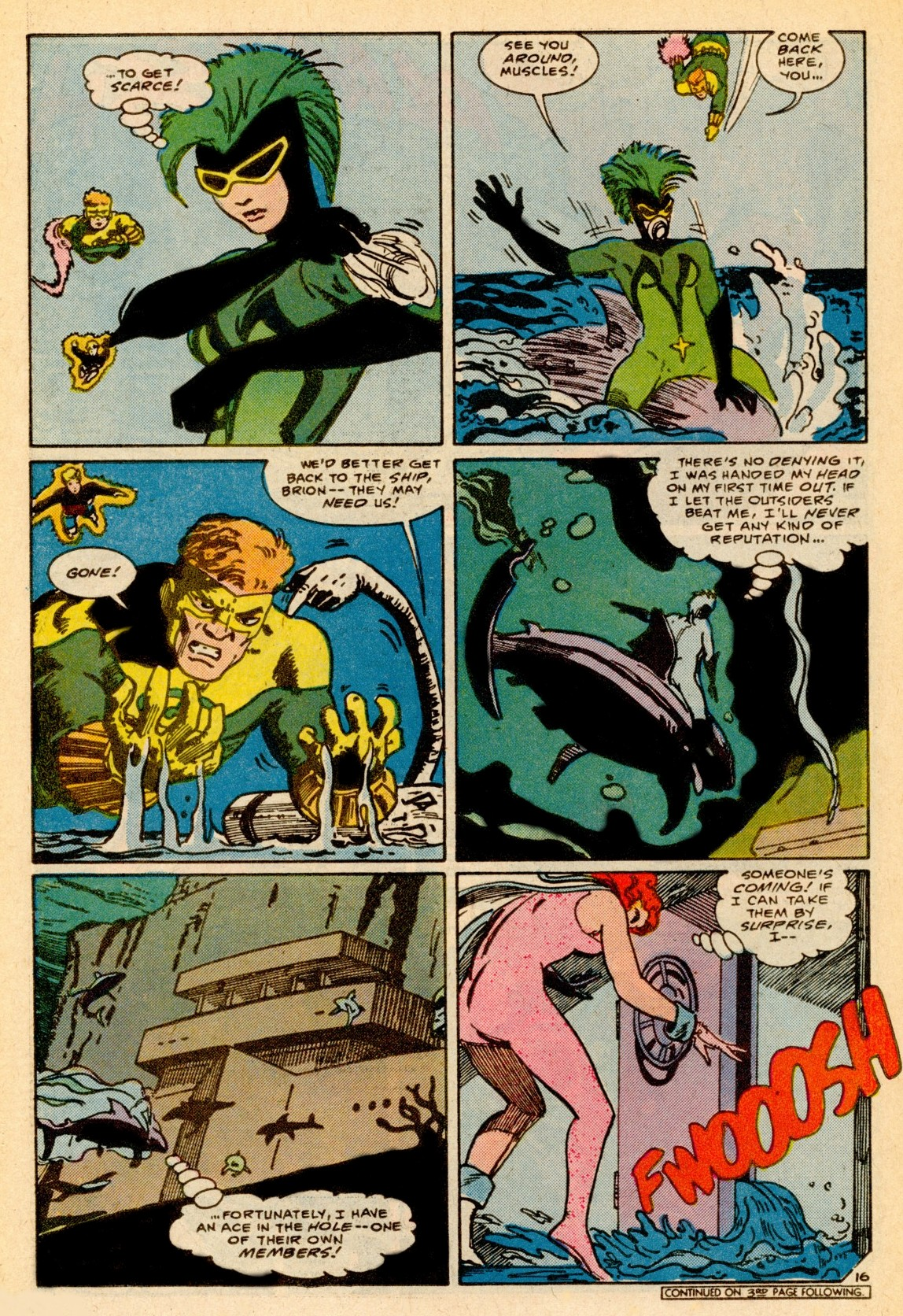 Read online Adventures of the Outsiders comic -  Issue #37 - 17