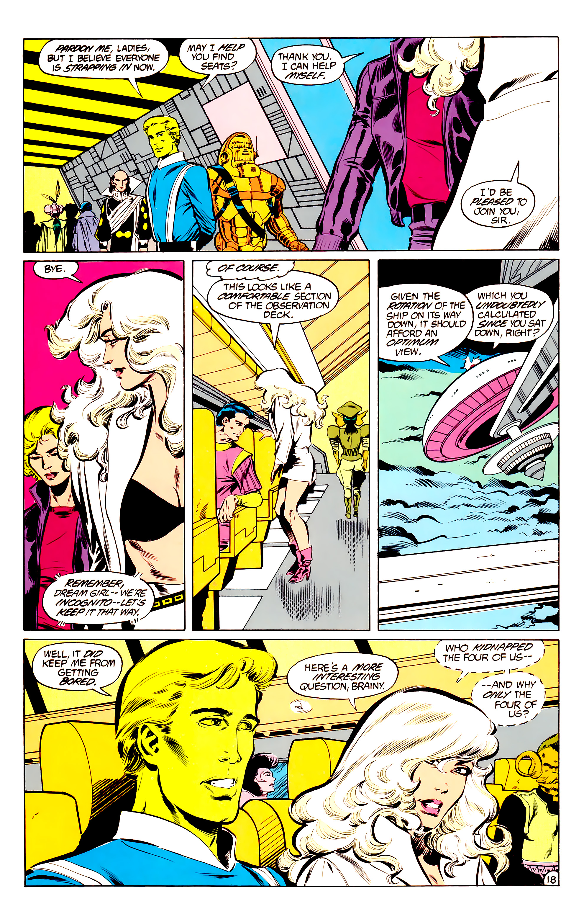 Legion of Super-Heroes (1984) 34 Page 18