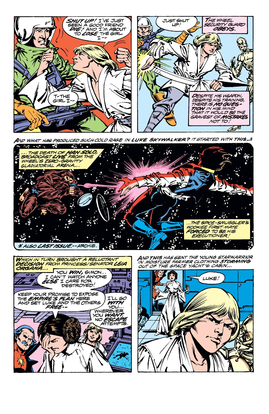 Read online Star Wars Legends: The Original Marvel Years - Epic Collection comic -  Issue # TPB 1 (Part 5) - 5