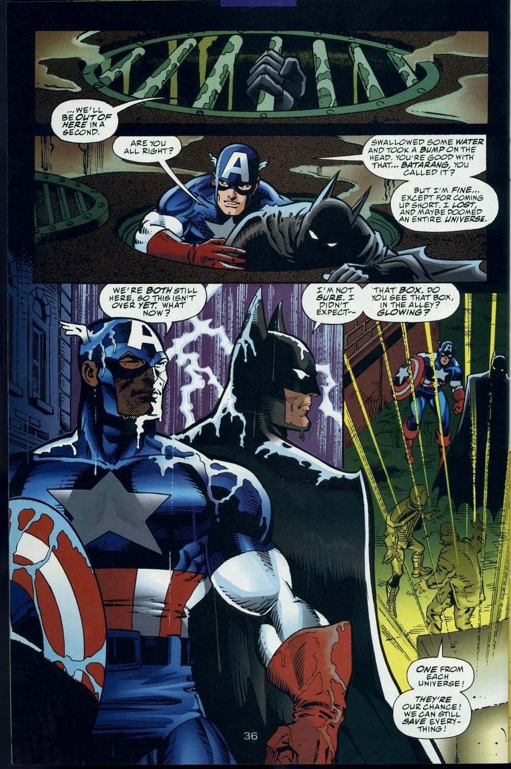 Read online DC Versus Marvel Comics comic -  Issue #3 - 37