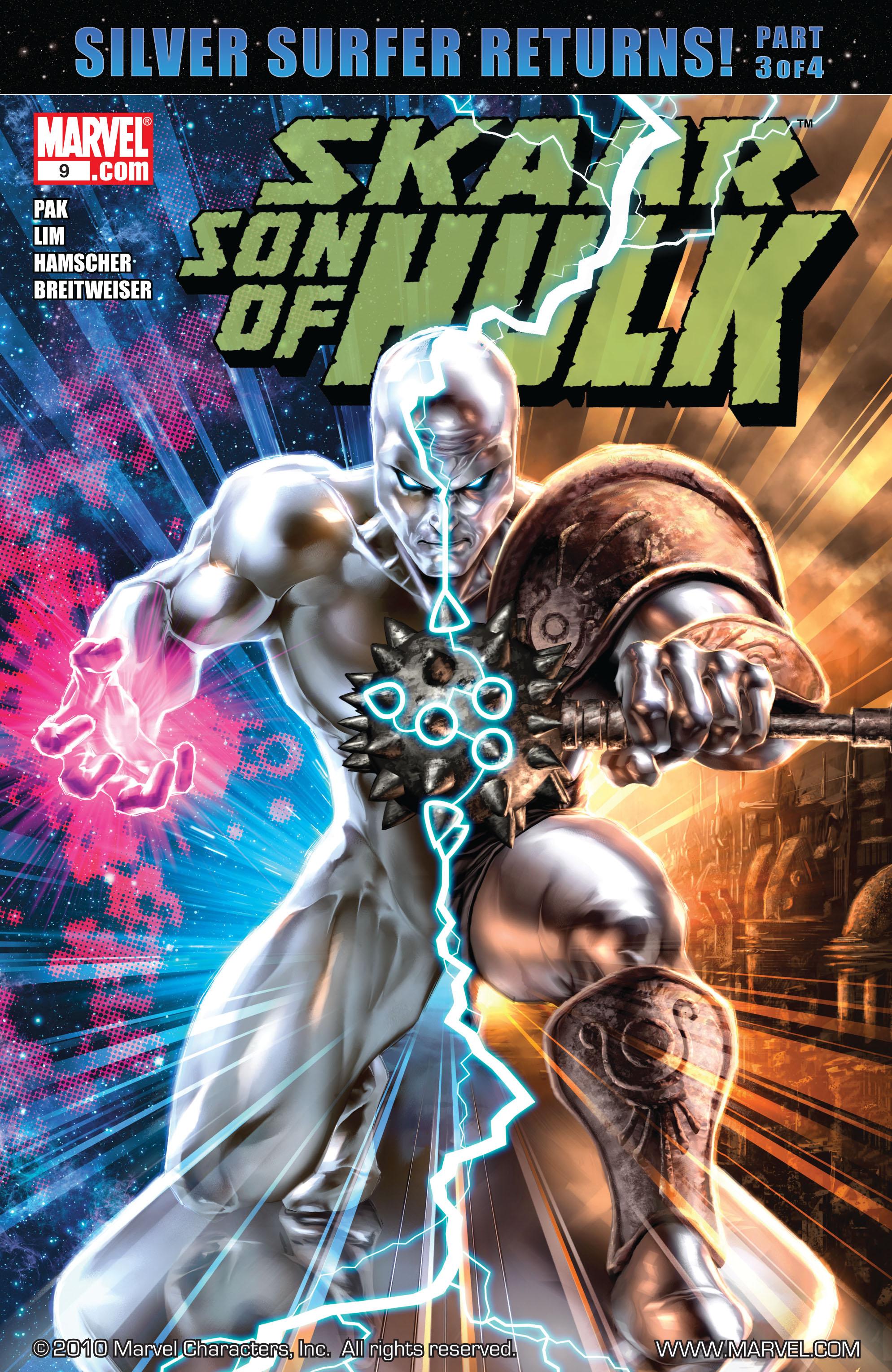 Read online Skaar: Son of Hulk comic -  Issue #9 - 1