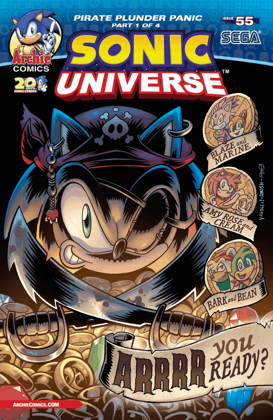 Read online Sonic Universe comic -  Issue #55 - 1