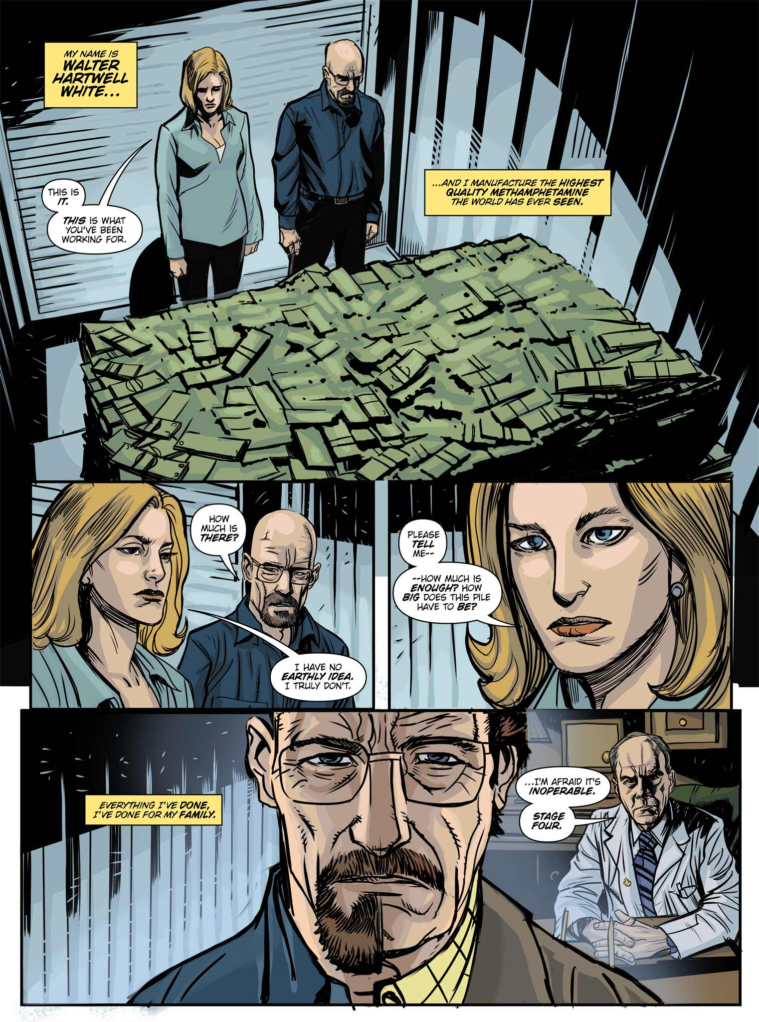 Read online Breaking Bad: All Bad Things comic -  Issue # Full - 2