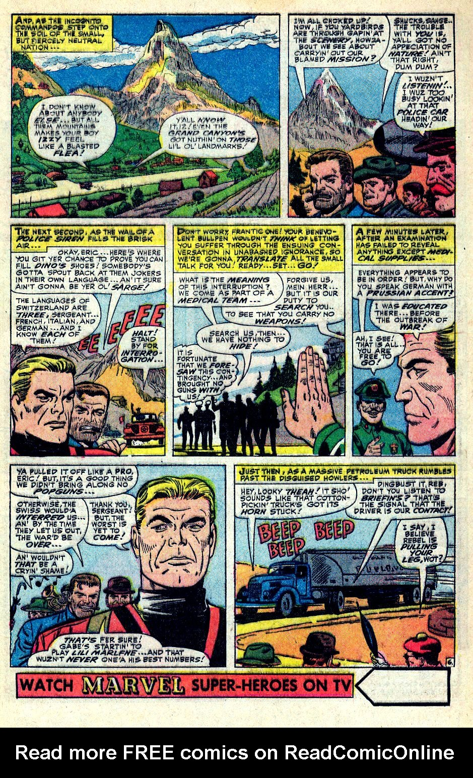 Read online Sgt. Fury comic -  Issue #36 - 9