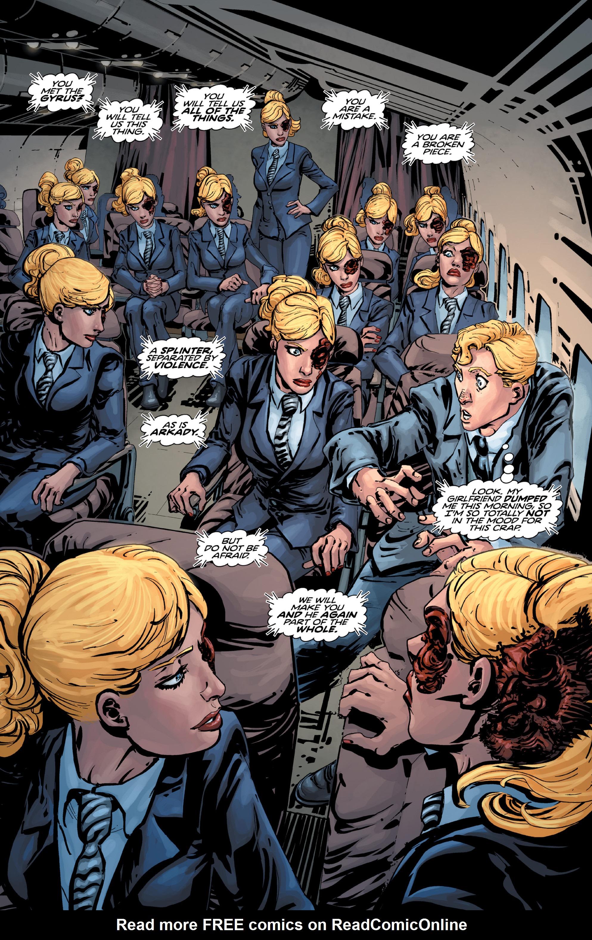 Read online Brain Boy:  The Men from G.E.S.T.A.L.T. comic -  Issue # TPB - 27