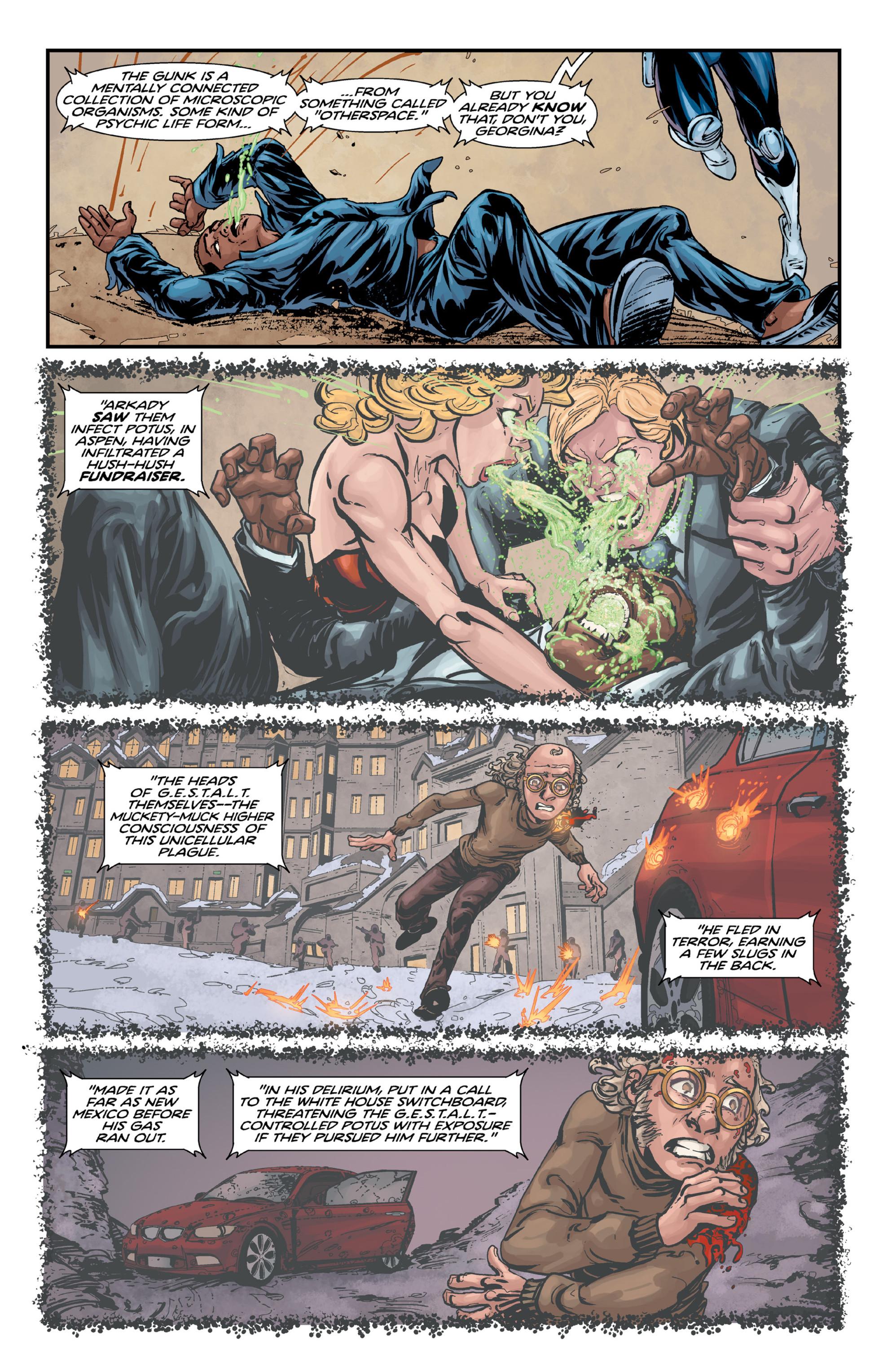 Read online Brain Boy:  The Men from G.E.S.T.A.L.T. comic -  Issue # TPB - 93