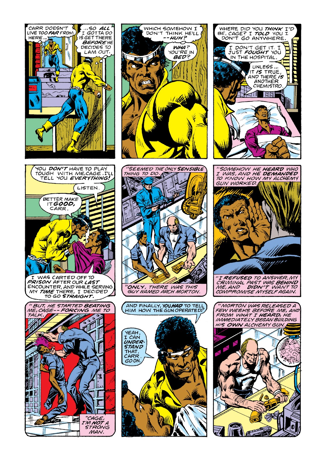 Read online Marvel Masterworks: Luke Cage, Power Man comic -  Issue # TPB 3 (Part 2) - 33