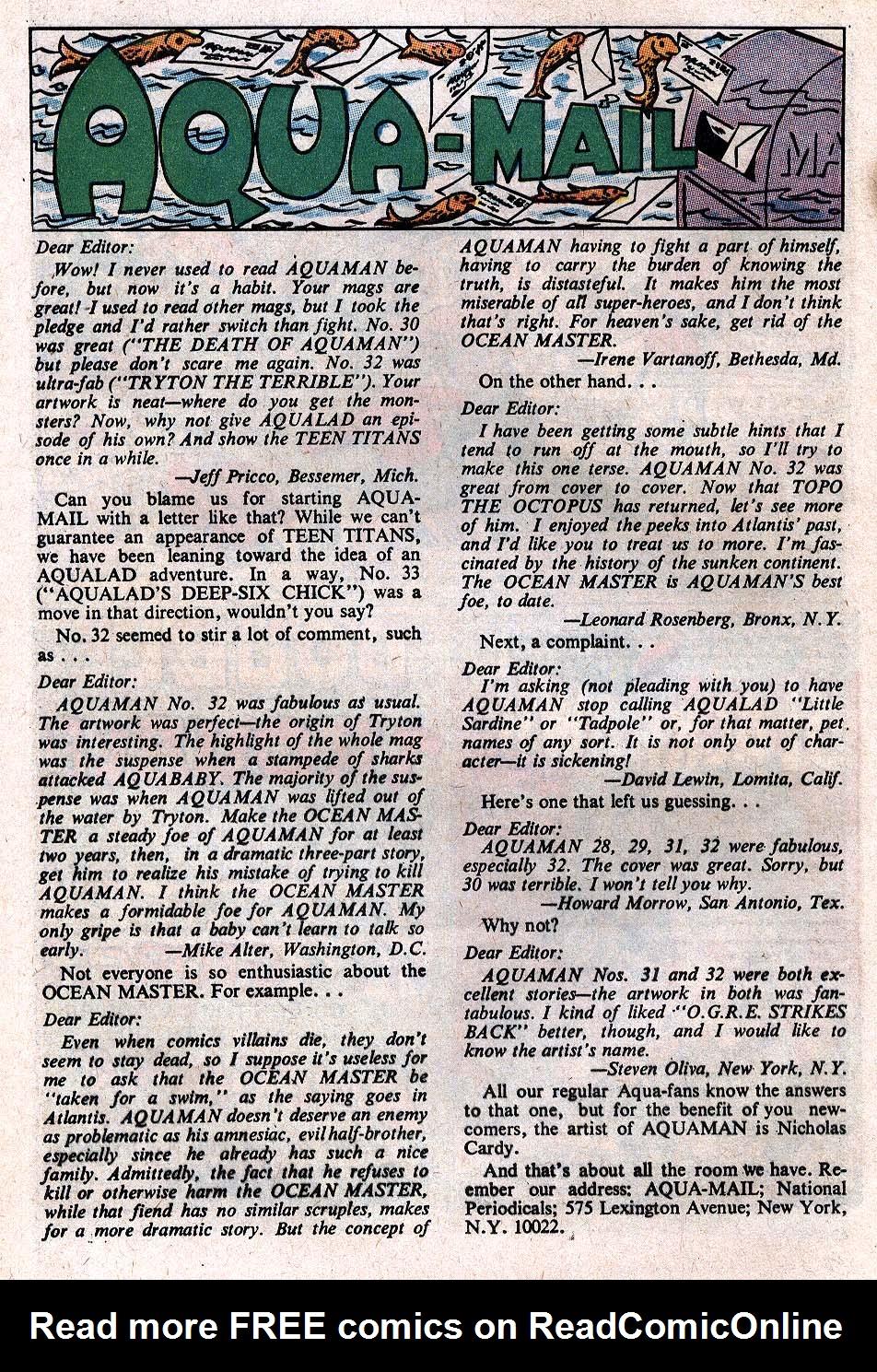 Read online Aquaman (1962) comic -  Issue #34 - 12