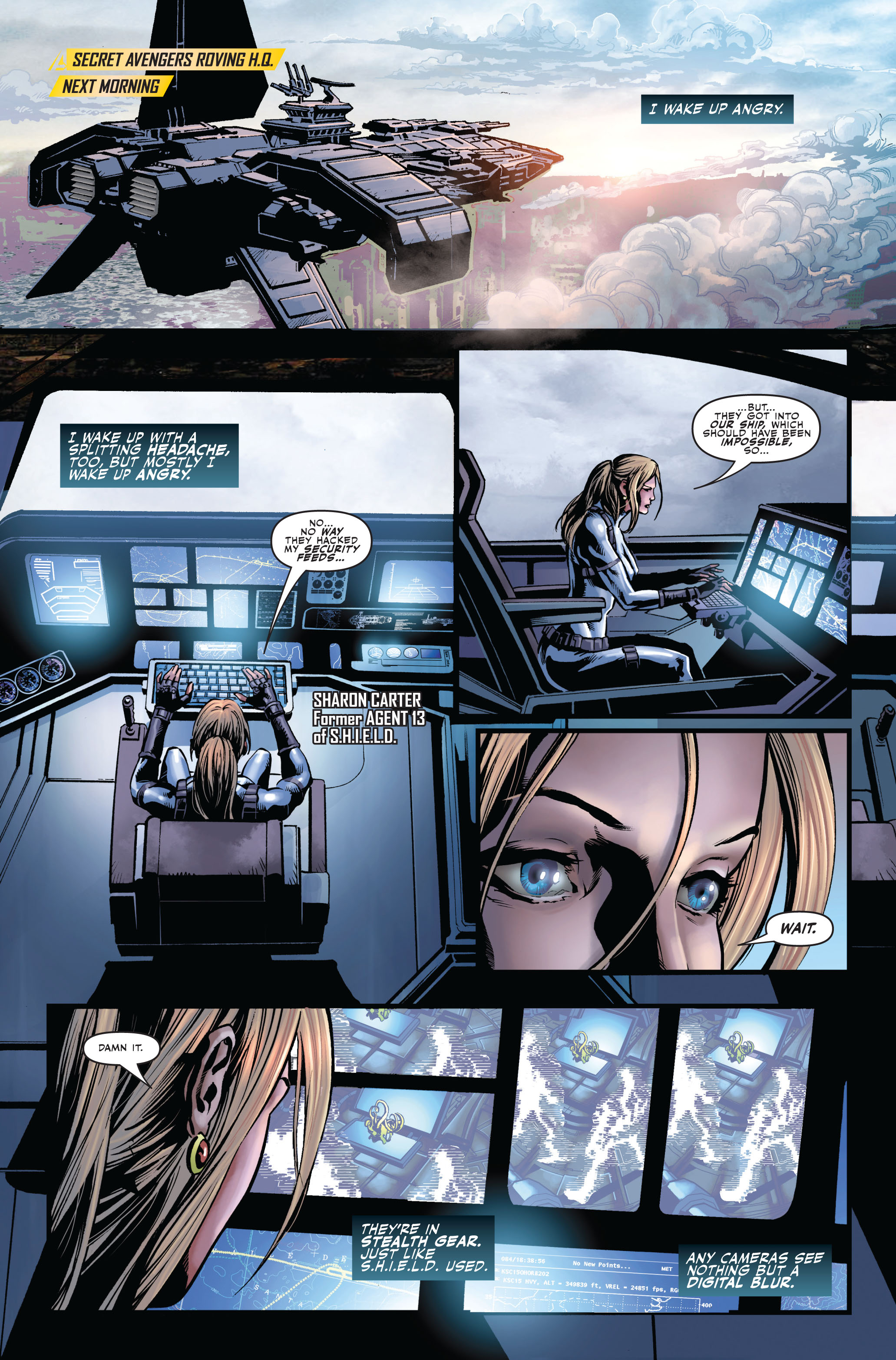 Read online Secret Avengers (2010) comic -  Issue #2 - 3