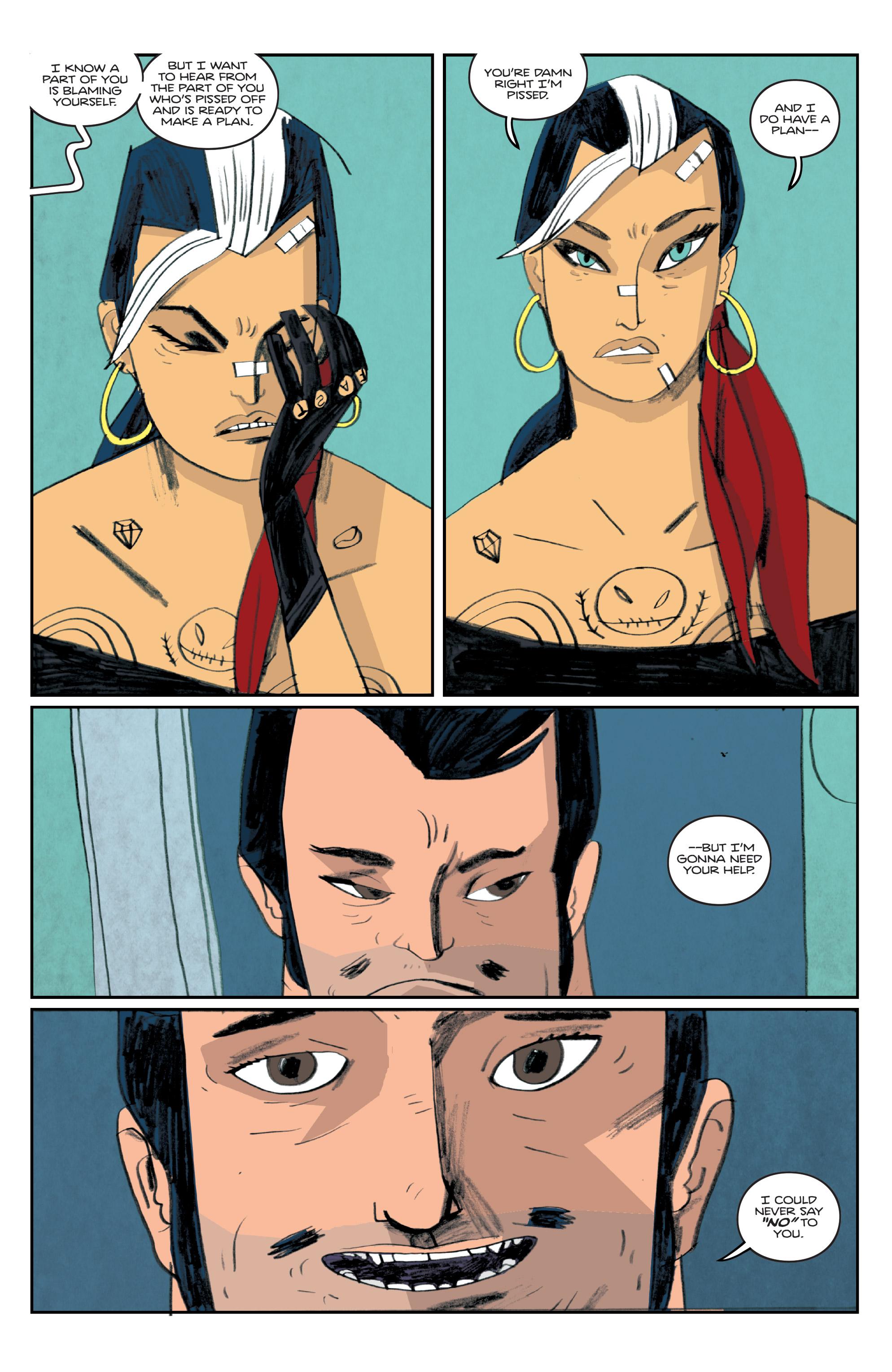 Read online Helena Crash comic -  Issue #4 - 7