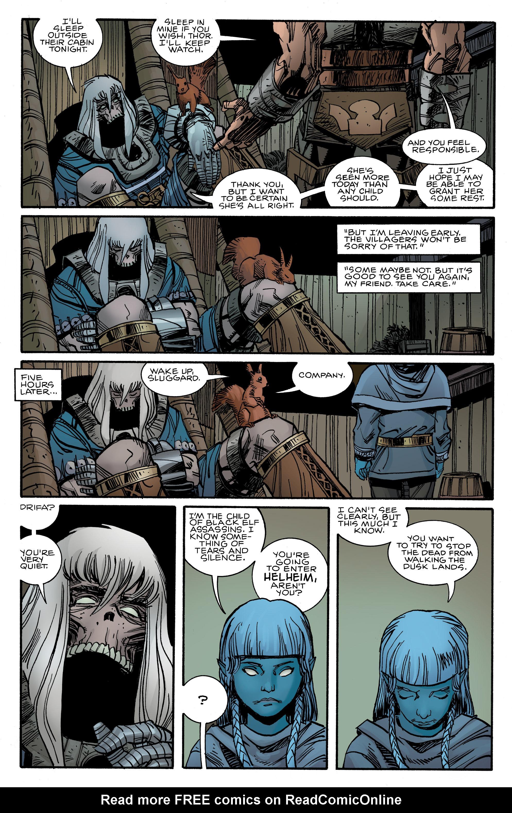 Read online Ragnarok comic -  Issue #12 - 21