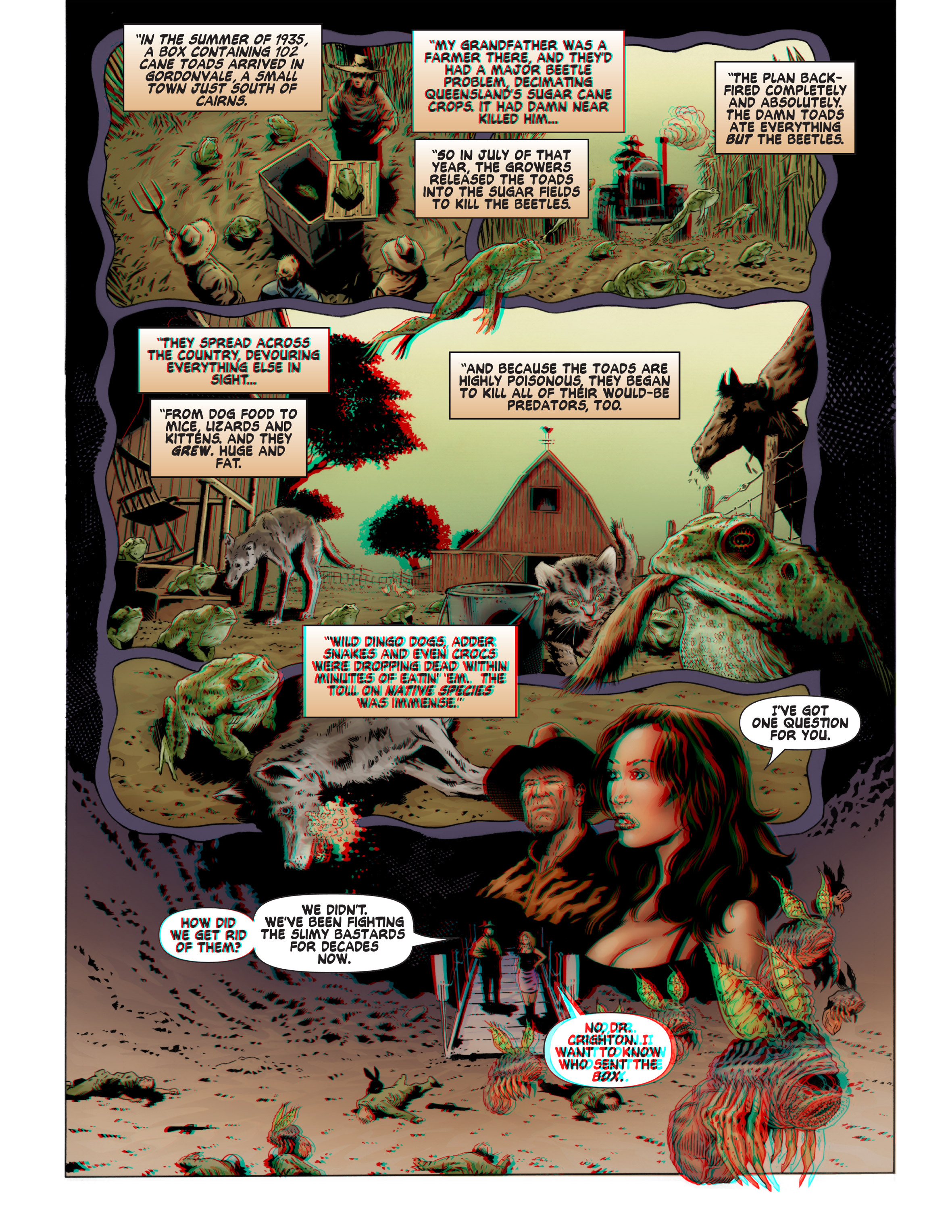 Read online Bad Planet comic -  Issue # TPB - 68