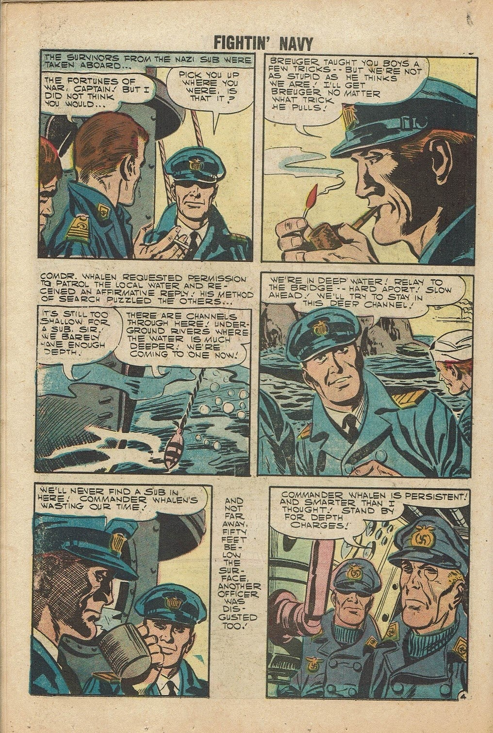Read online Fightin' Navy comic -  Issue #81 - 18
