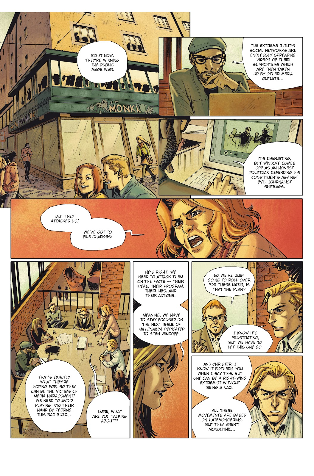 Read online Millennium: The Girl Who Danced With Death comic -  Issue #1 - 13