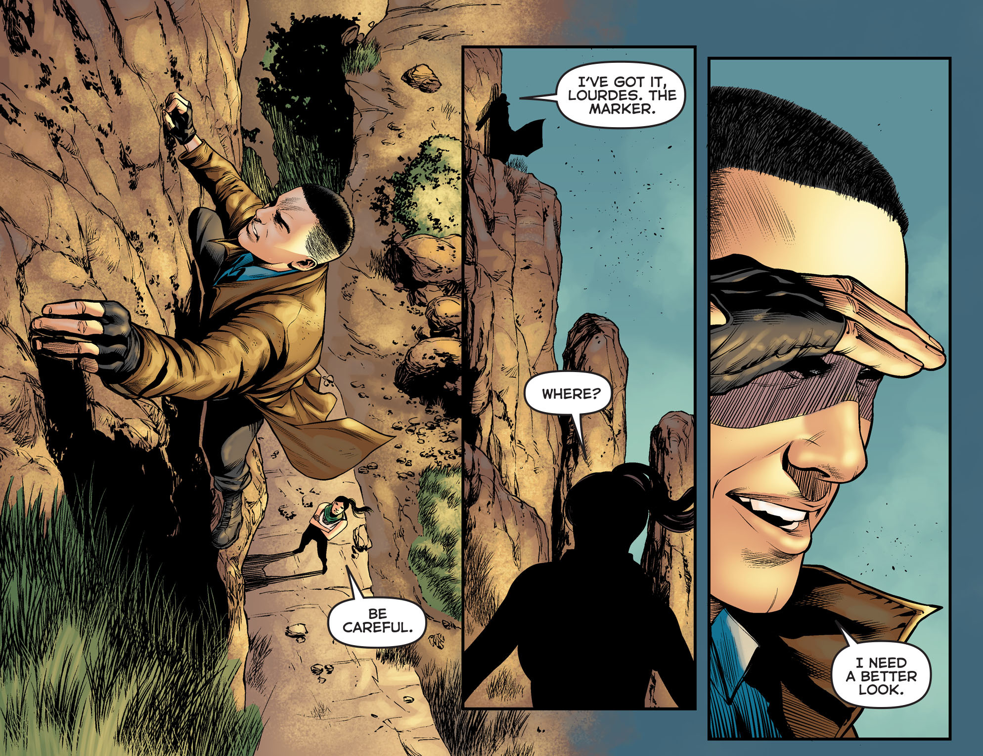 Read online Arrow: The Dark Archer comic -  Issue #5 - 19