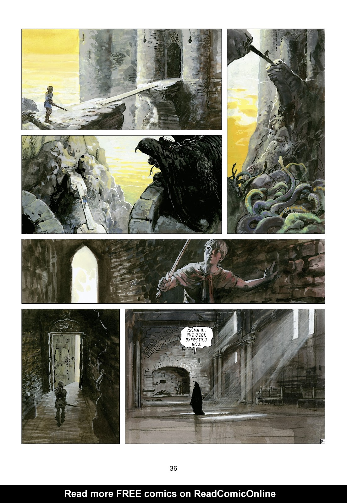 Read online Thorgal comic -  Issue #21 - 38