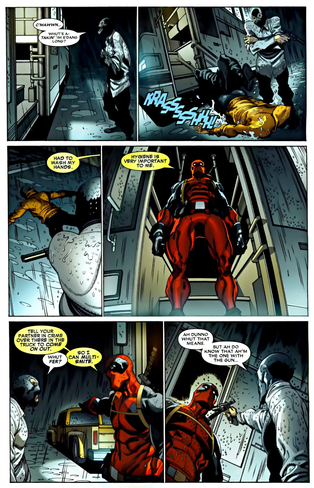 Read online Deadpool (2008) comic -  Issue #22 - 7