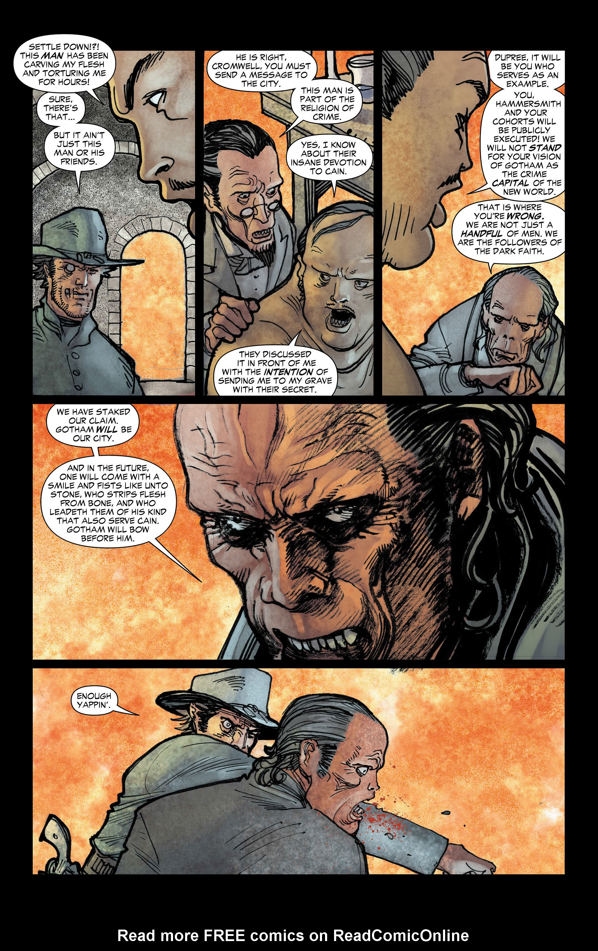 Read online All-Star Western (2011) comic -  Issue #3 - 5