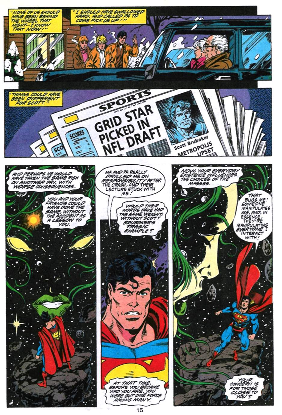 Read online Adventures of Superman (1987) comic -  Issue #494 - 16