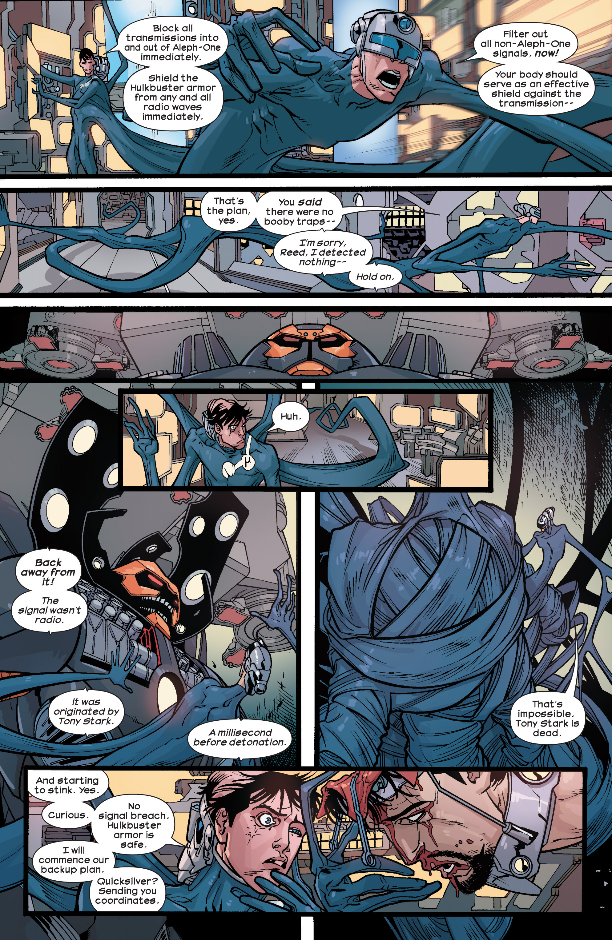 Read online Ultimate Comics Ultimates comic -  Issue #28 - 14