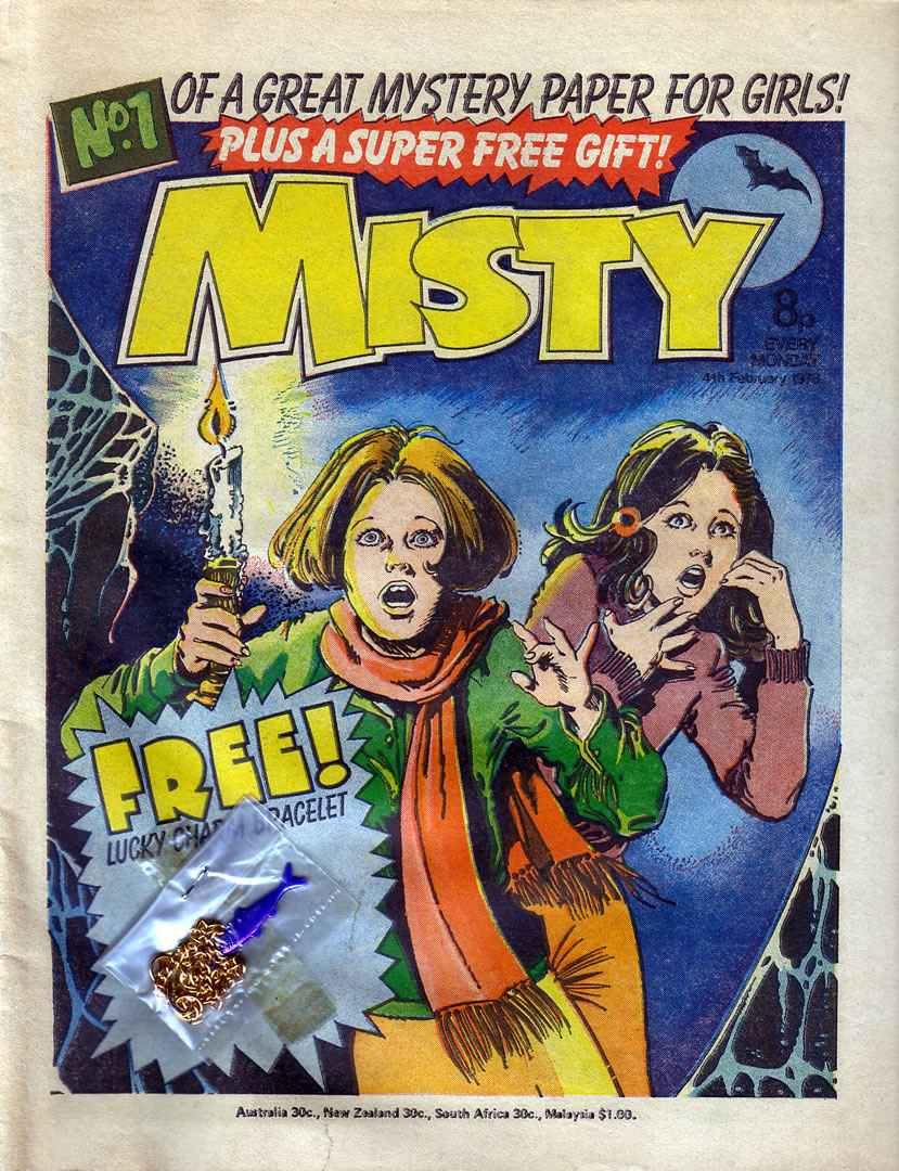 Read online Misty comic -  Issue #1 - 1