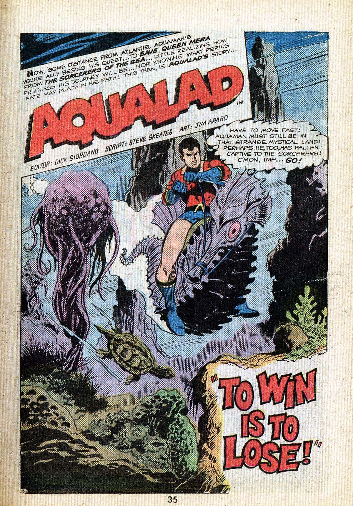 Read online Adventure Comics (1938) comic -  Issue #494 - 35