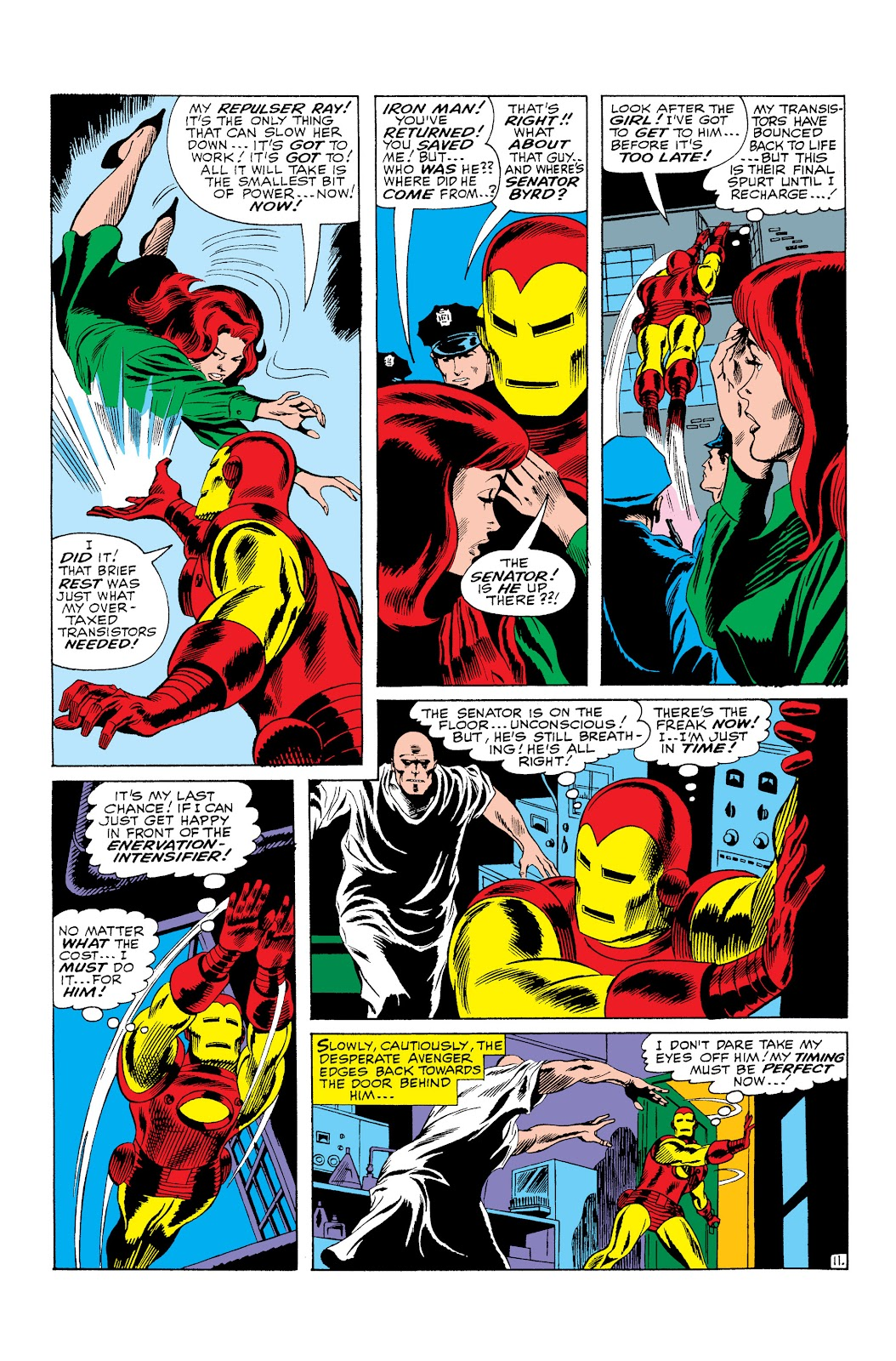 Read online Marvel Masterworks: The Invincible Iron Man comic -  Issue # TPB 3 (Part 3) - 21