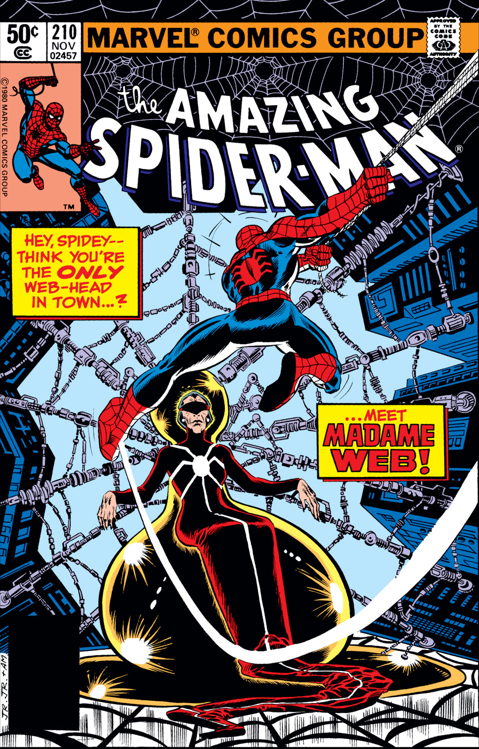 The Amazing Spider-Man (1963) 210 Page 1