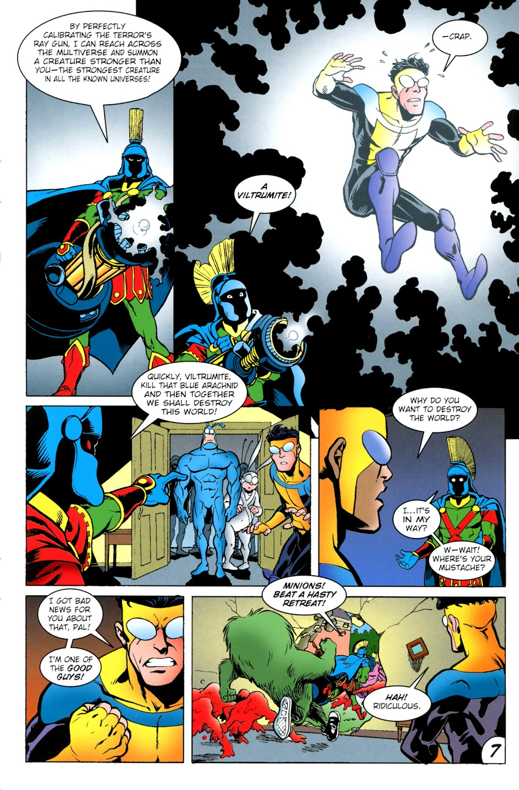 Read online The Tick comic -  Issue #100 - 9
