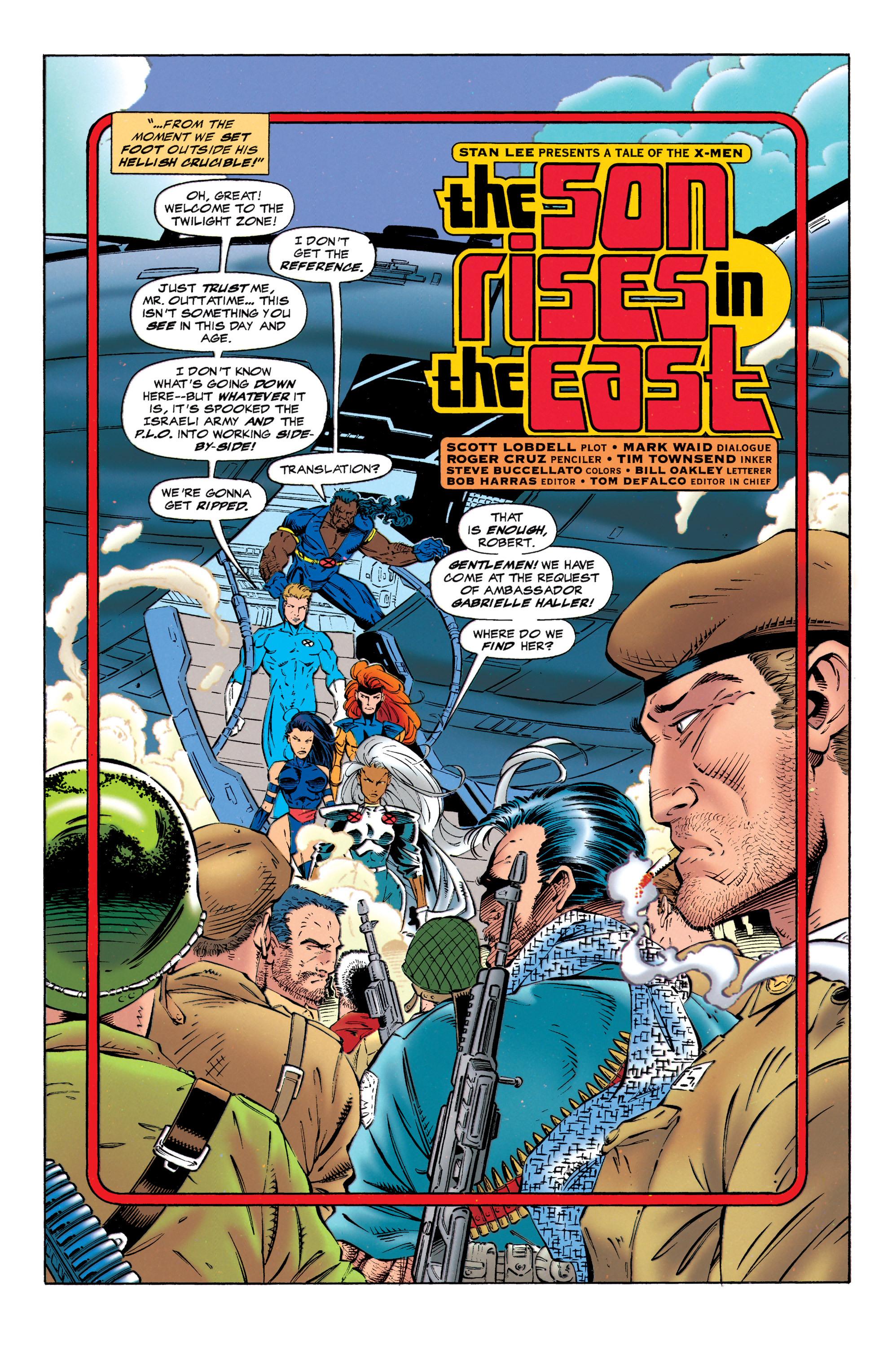 Read online Uncanny X-Men (1963) comic -  Issue #320 - 5