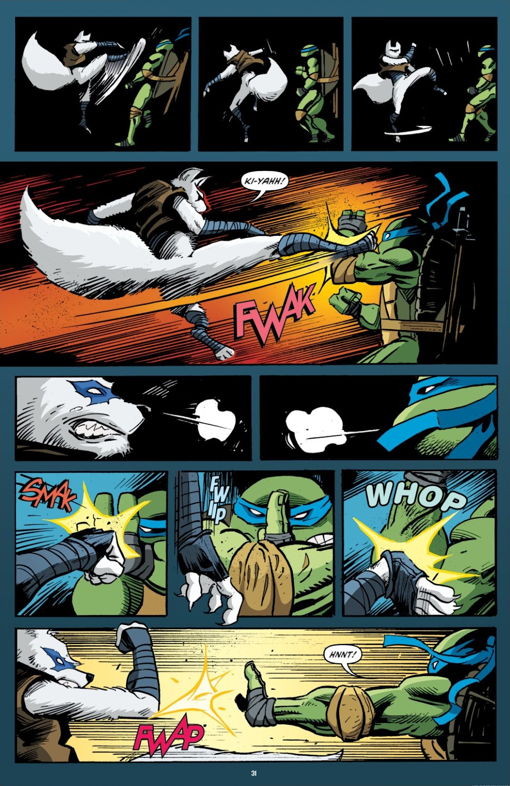 Read online Teenage Mutant Ninja Turtles: The IDW Collection comic -  Issue # TPB 7 (Part 1) - 31