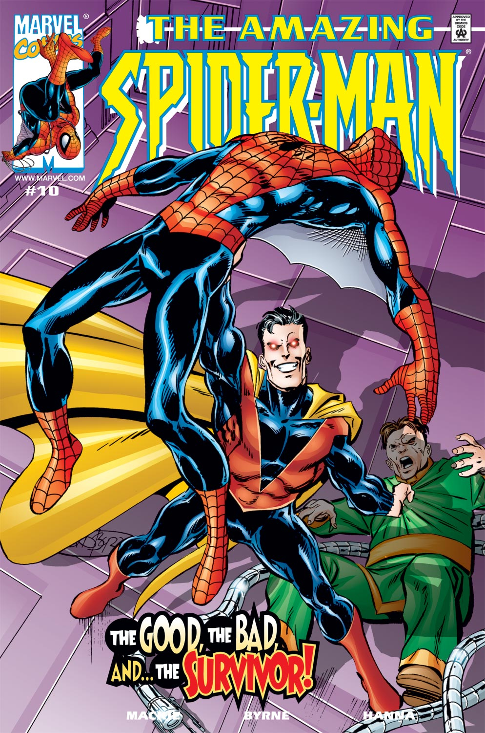The Amazing Spider-Man (1999) 10 Page 0