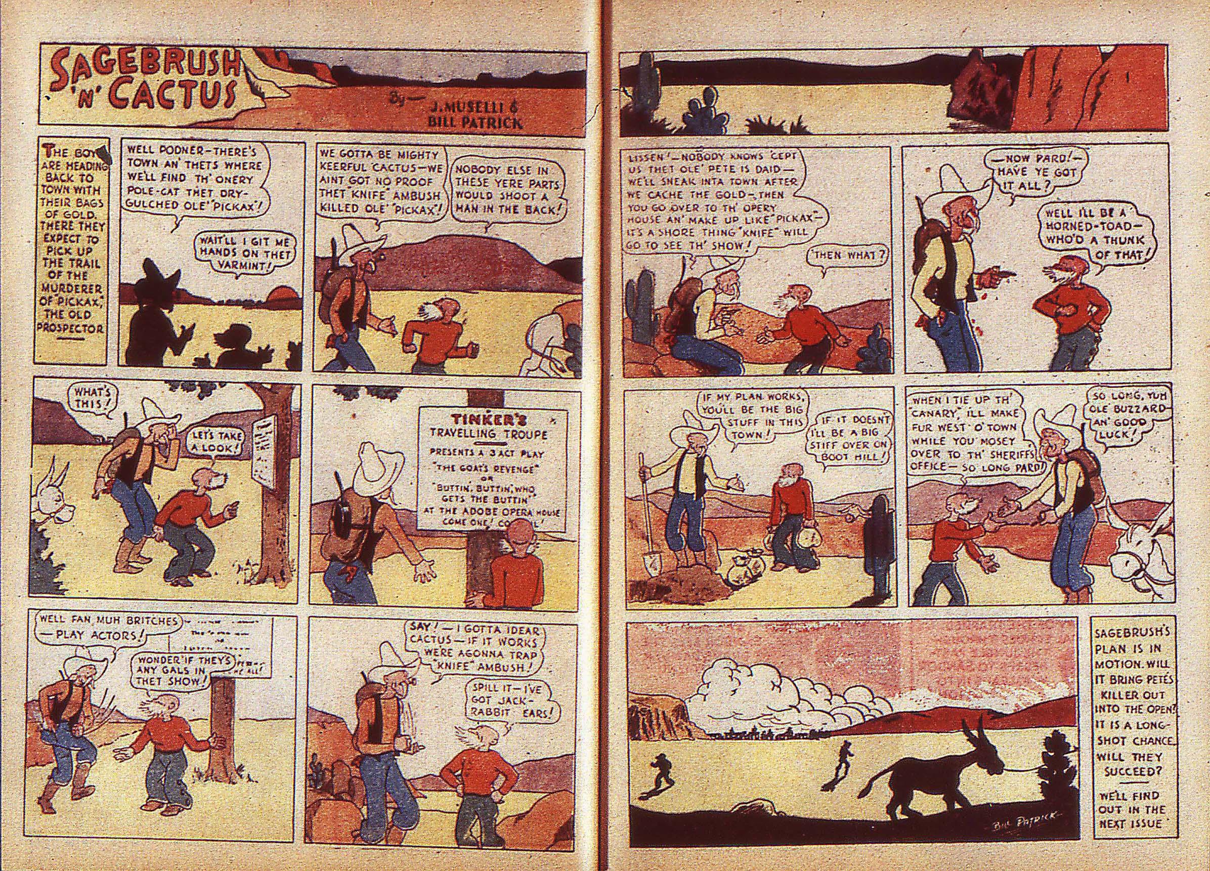 Read online Adventure Comics (1938) comic -  Issue #5 - 9